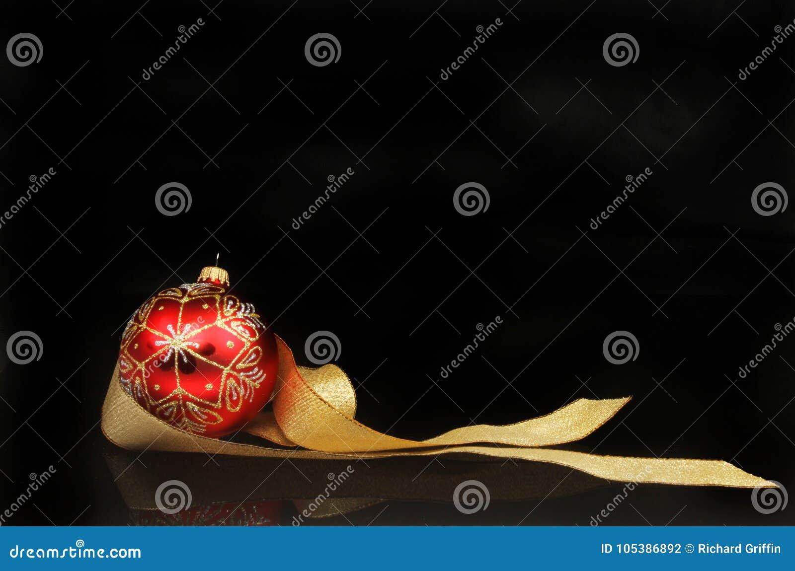 Motif de Noël contre le noir