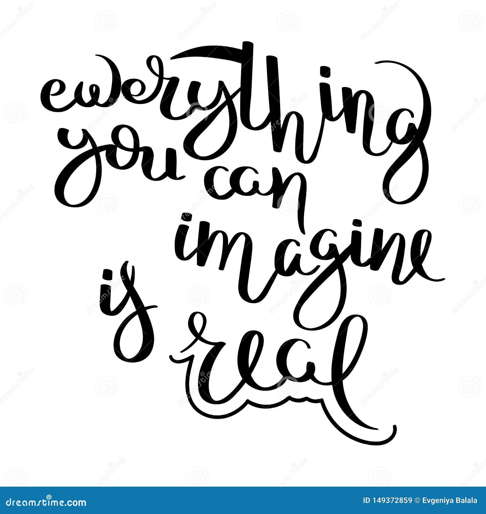 Motivaci?n escrita mano de la cita de la caligraf?a para la vida y la felicidad Para la postal, el cartel, impresiones, carda dis