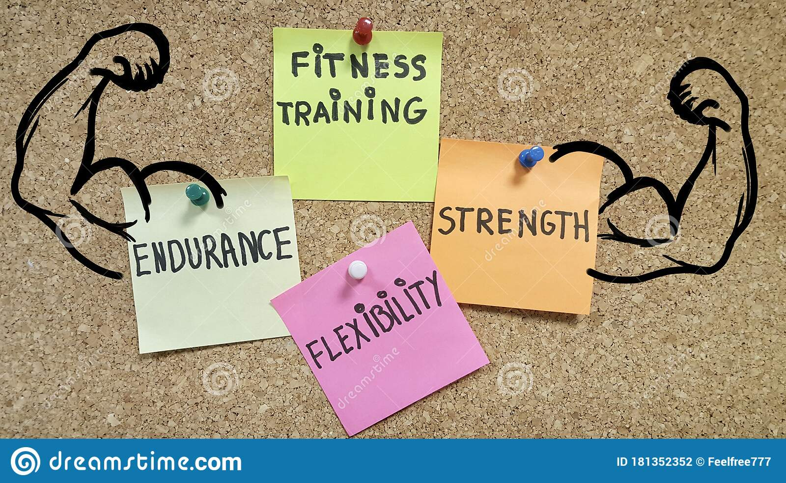 Motivation Quotes Fitness Training Corporative Business Concep Artwork Stock Photo Image Of Format Concep 181352352