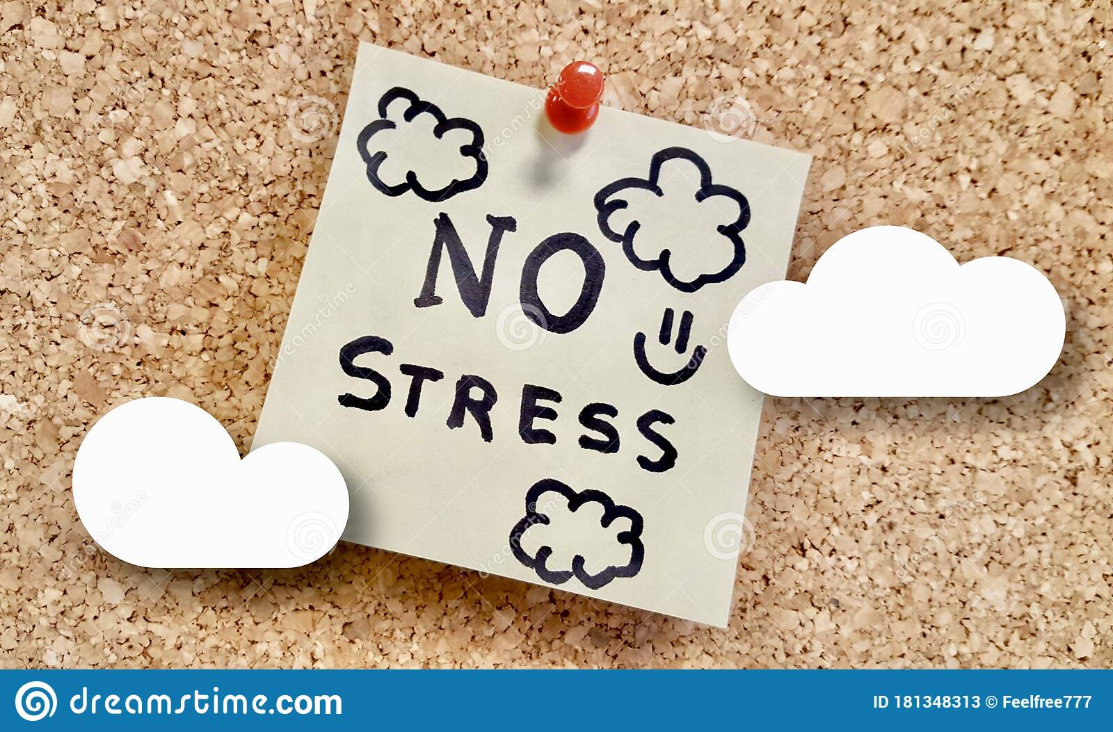 Motivation Quotes No Stress Corporative Business Concep Artwork Stock Image Image Of Strong Perfectly 181348313