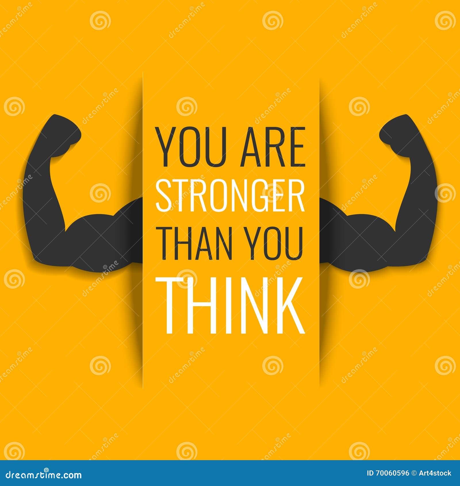 Motivational Fitness Poster Stock Vector