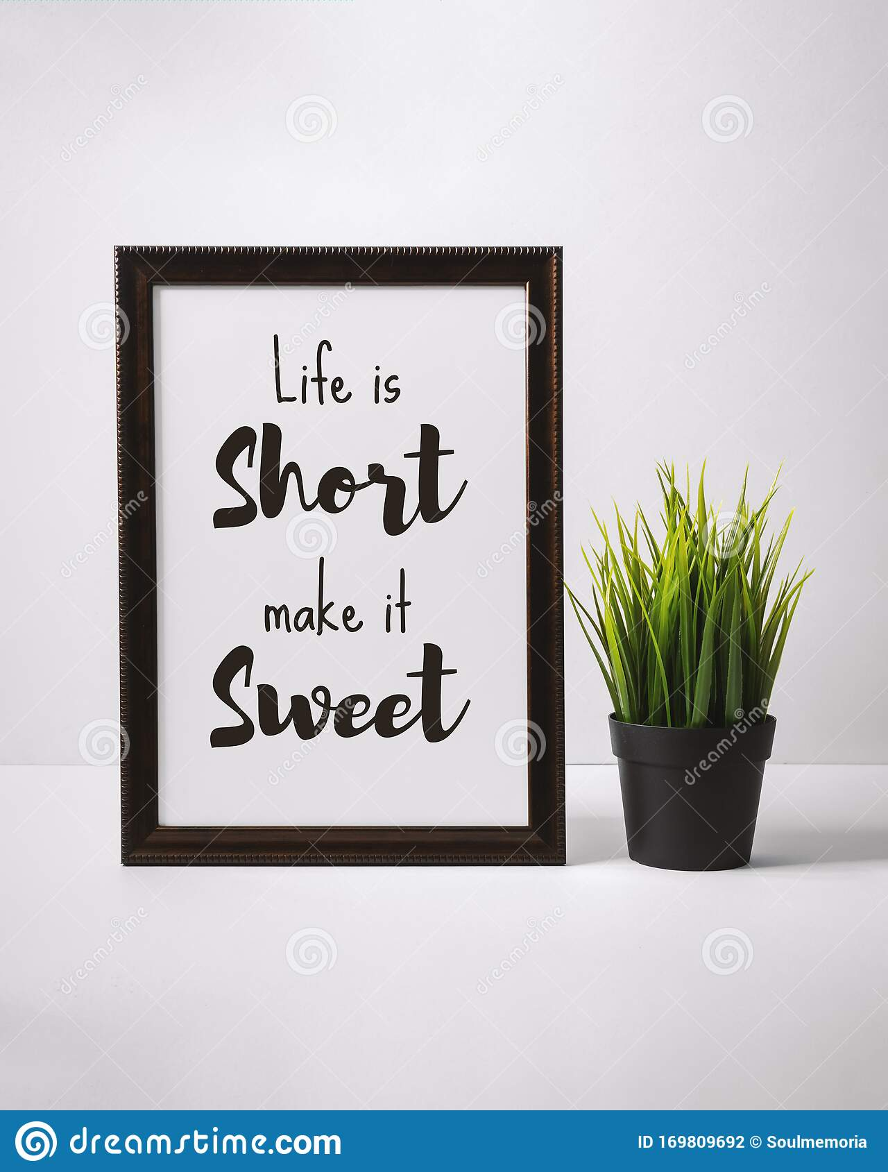 Motivational And Inspirational Quotes. Still Life Of Word ...