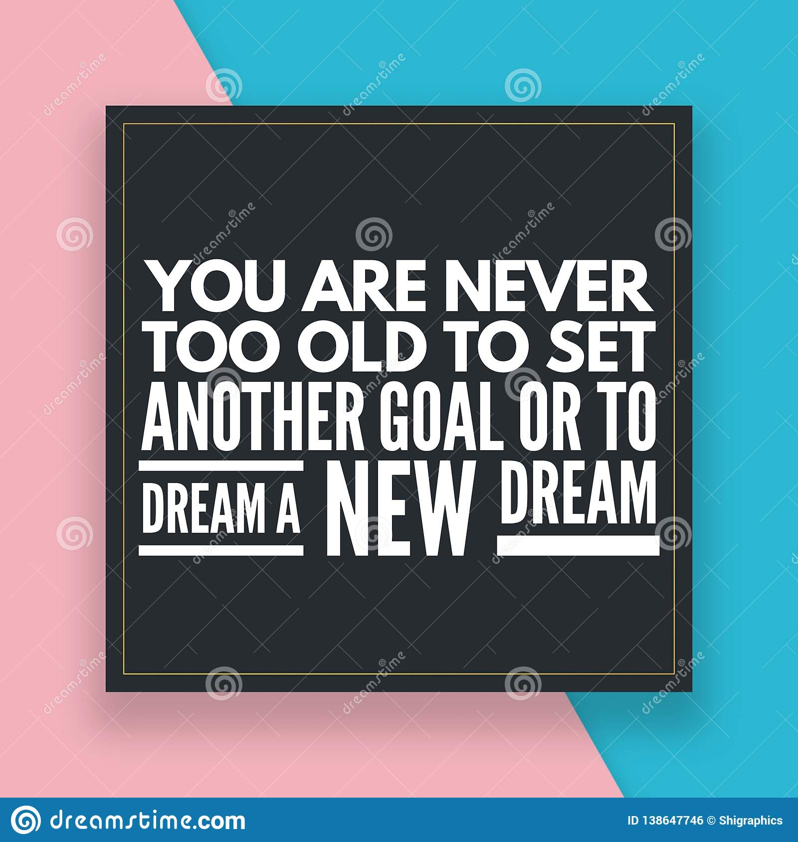Motivational Quotes For Daily Life Stock Illustration Illustration