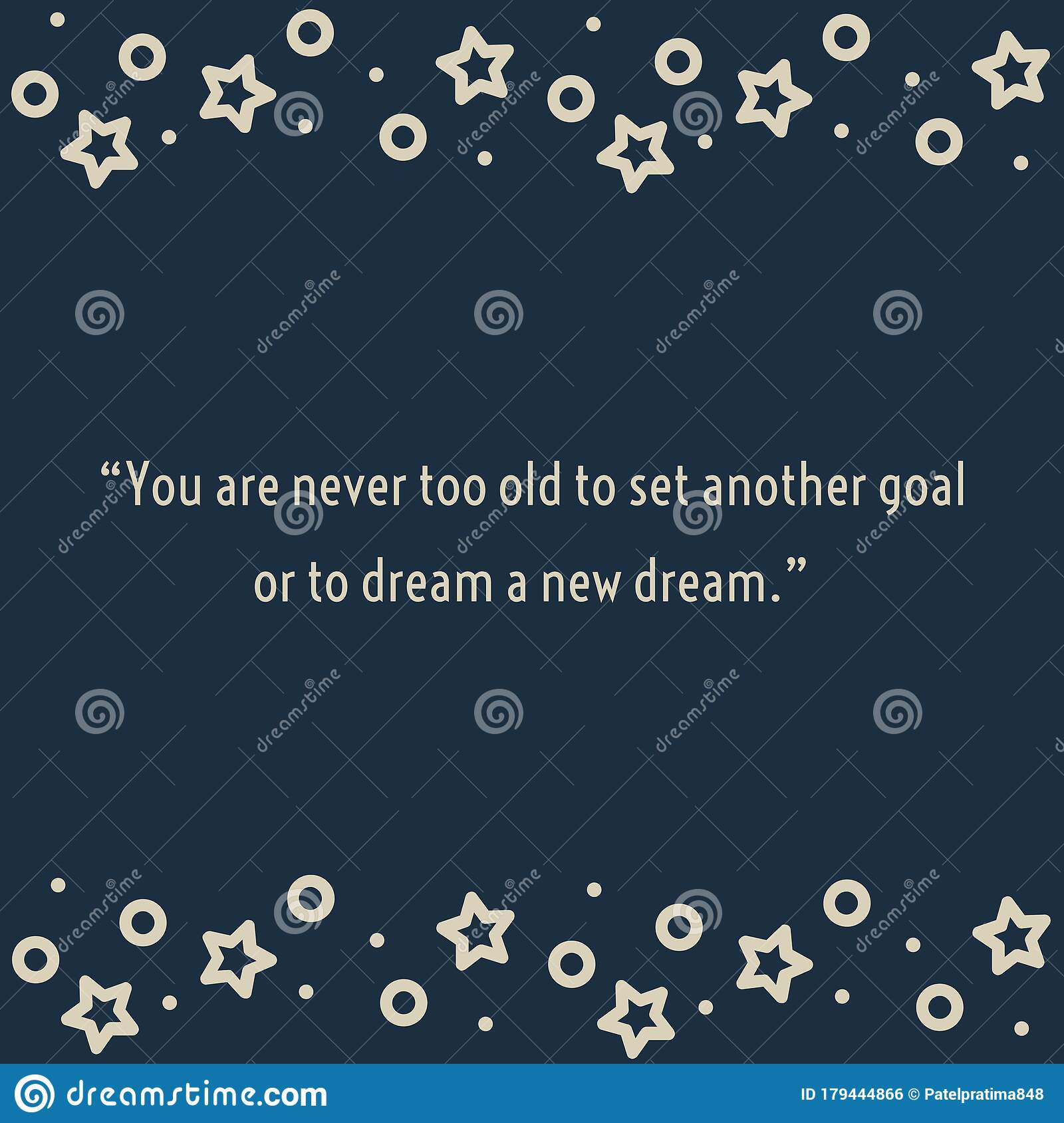 Motivational Quote Written On Abstract Background