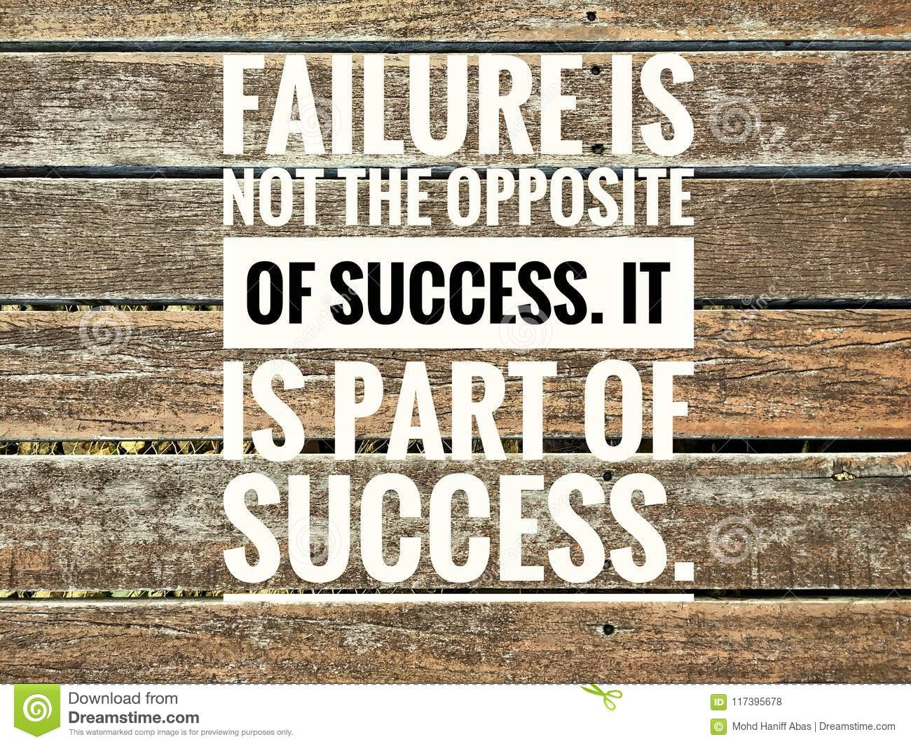 Motivational Quotes Of Failure Is Not The Opposite Of ...Quotes About Failure
