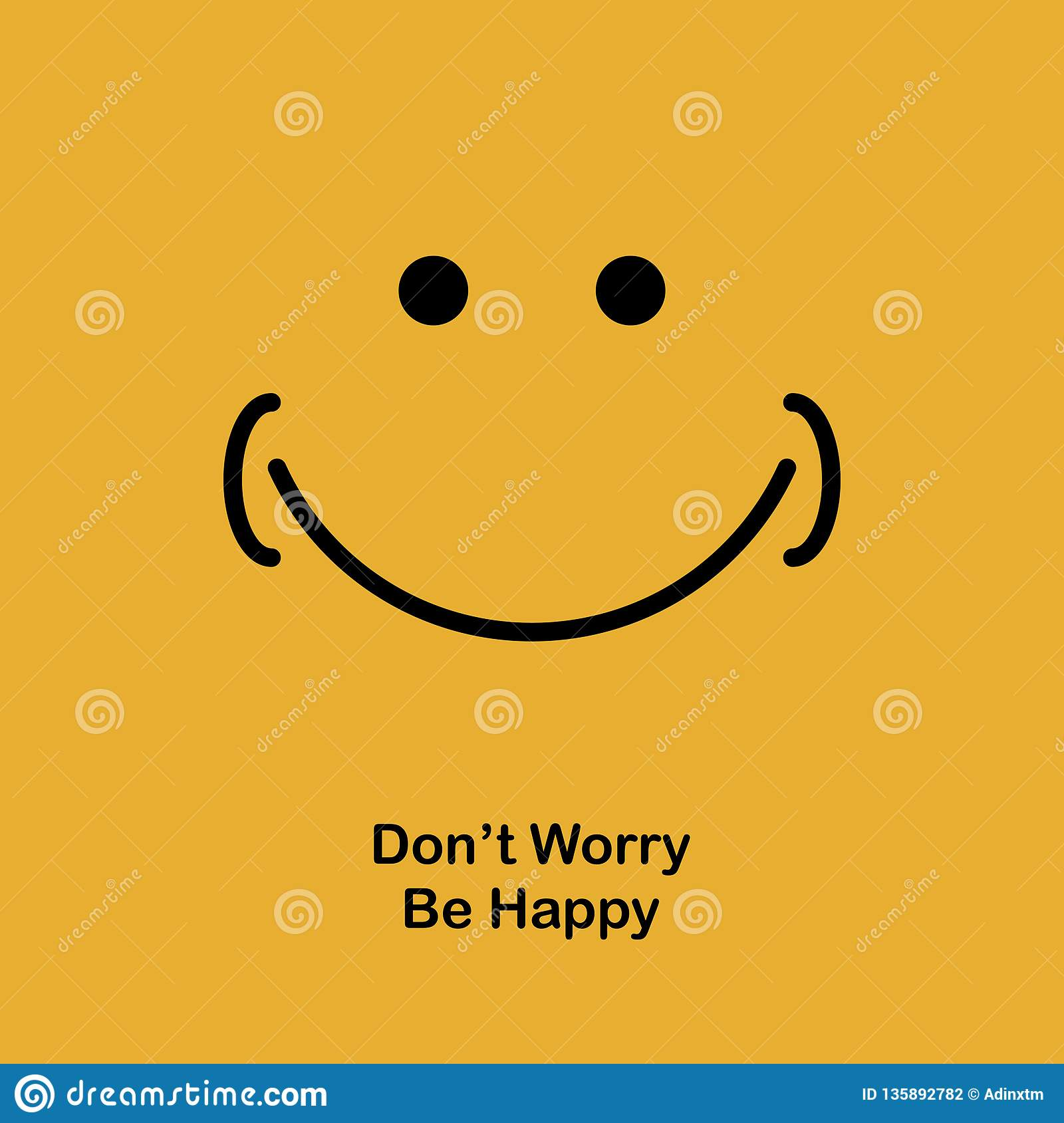 motivational quotes poster banner design happy and smile