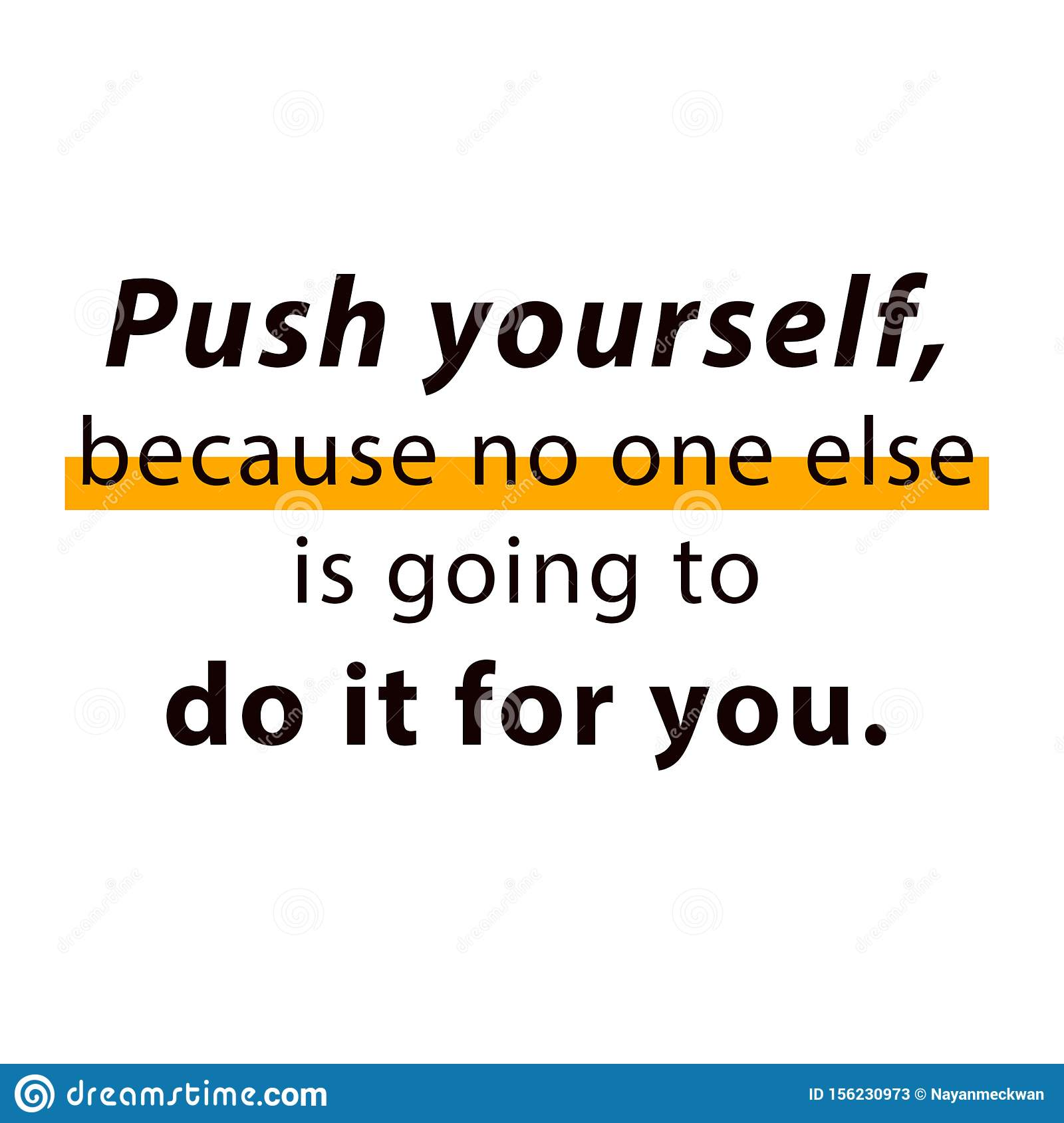Motivational Quotes For Work Stock Vector - Illustration of