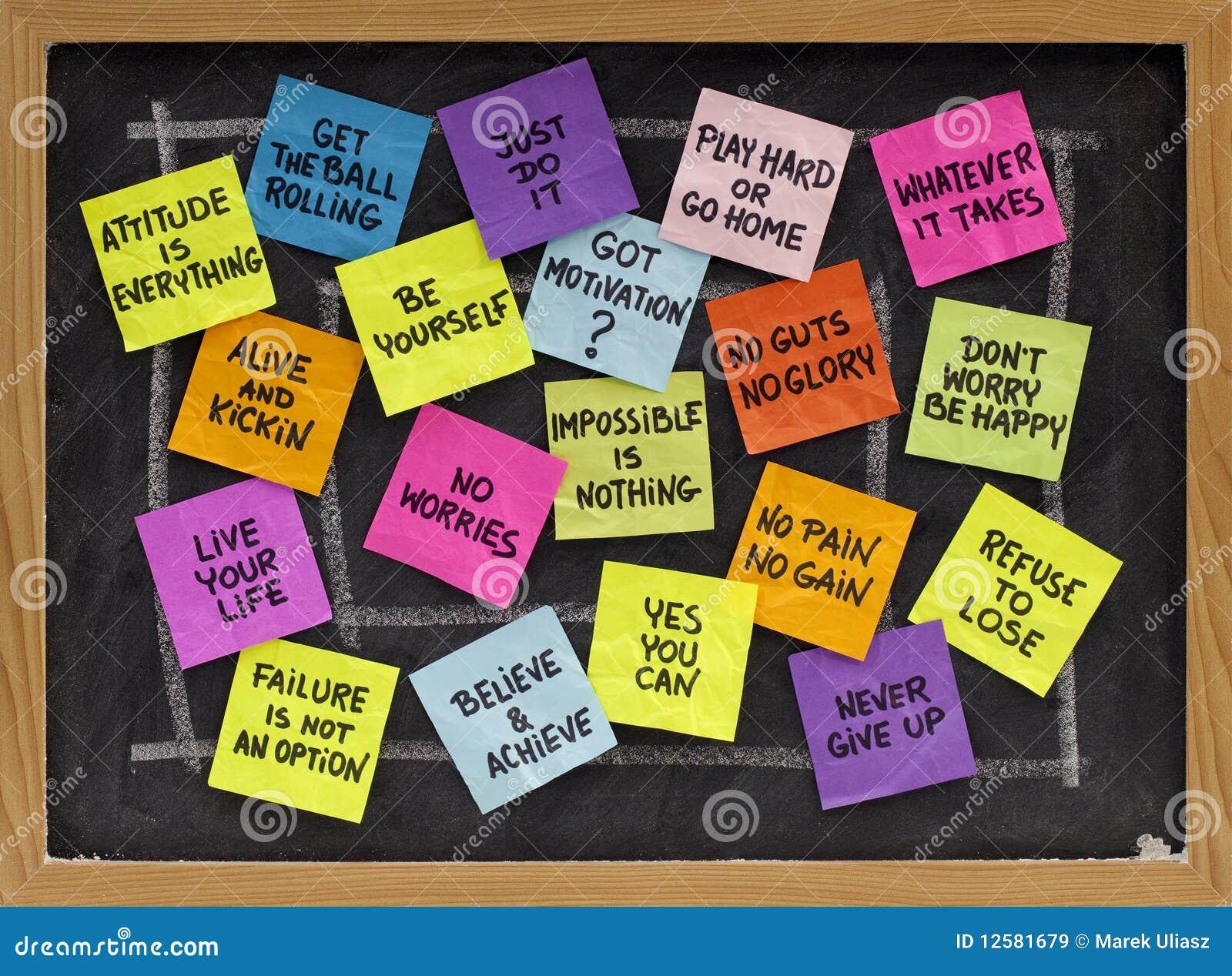 Motivational Slogans Motivational Slogans And Phrases Stock Image  Image 12581679