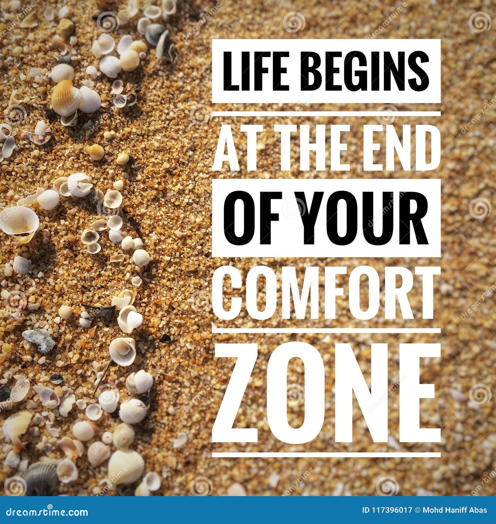 Motivzitate auf Naturhintergrund, den ein Leben am Ende Ihrer Kuschelecke anfängt