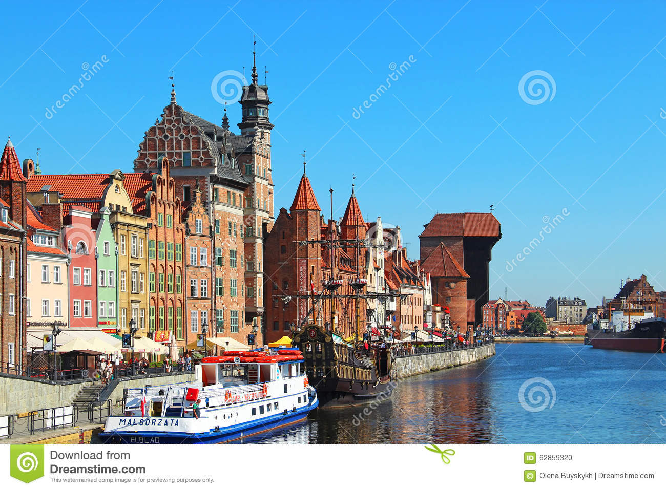 motlawa river embankment downtown gdansk poland july historic buildings bank 62859320 house wiring diagram 15 on house wiring diagram