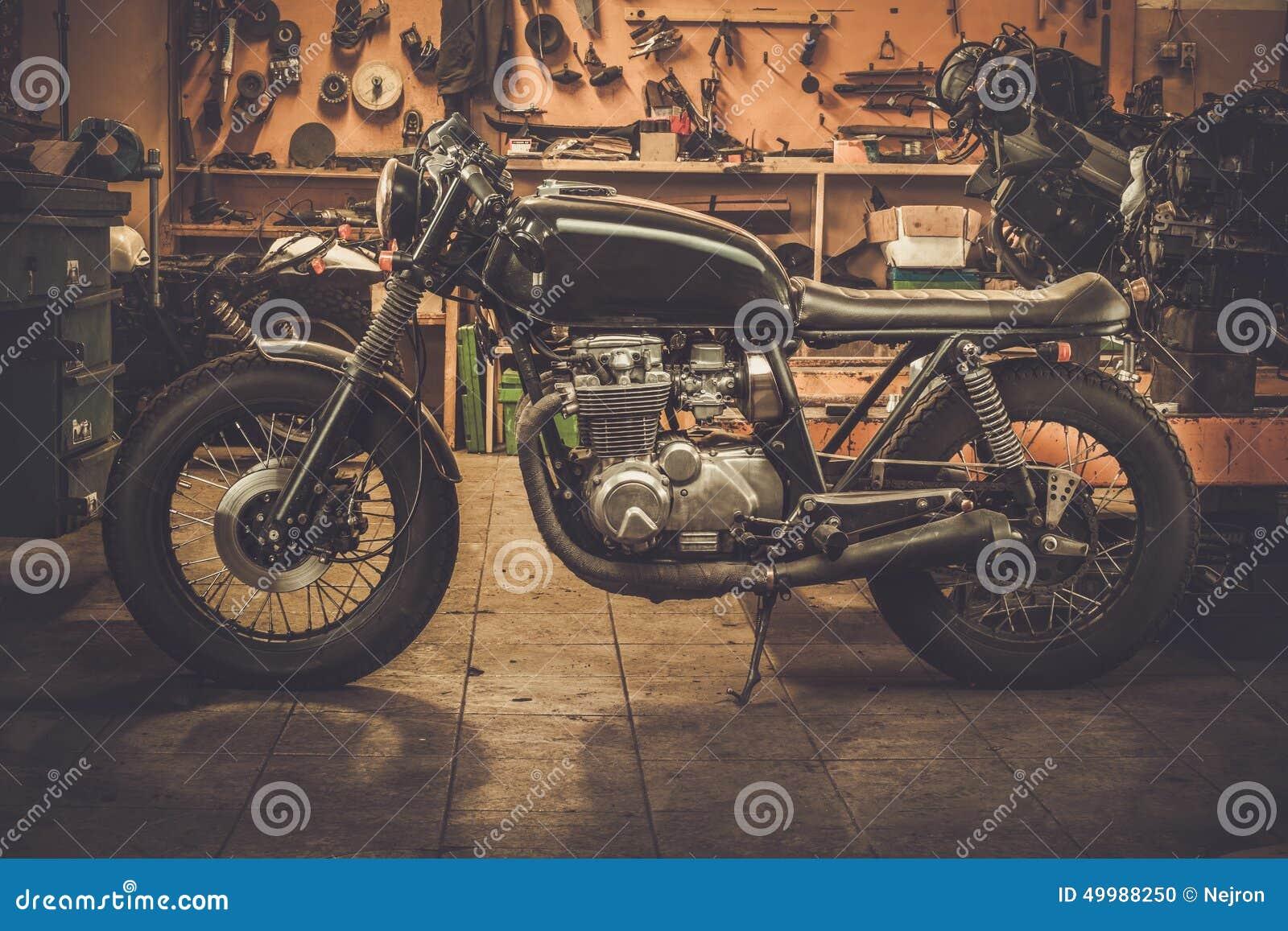 Moto de café-coureur de style de vintage