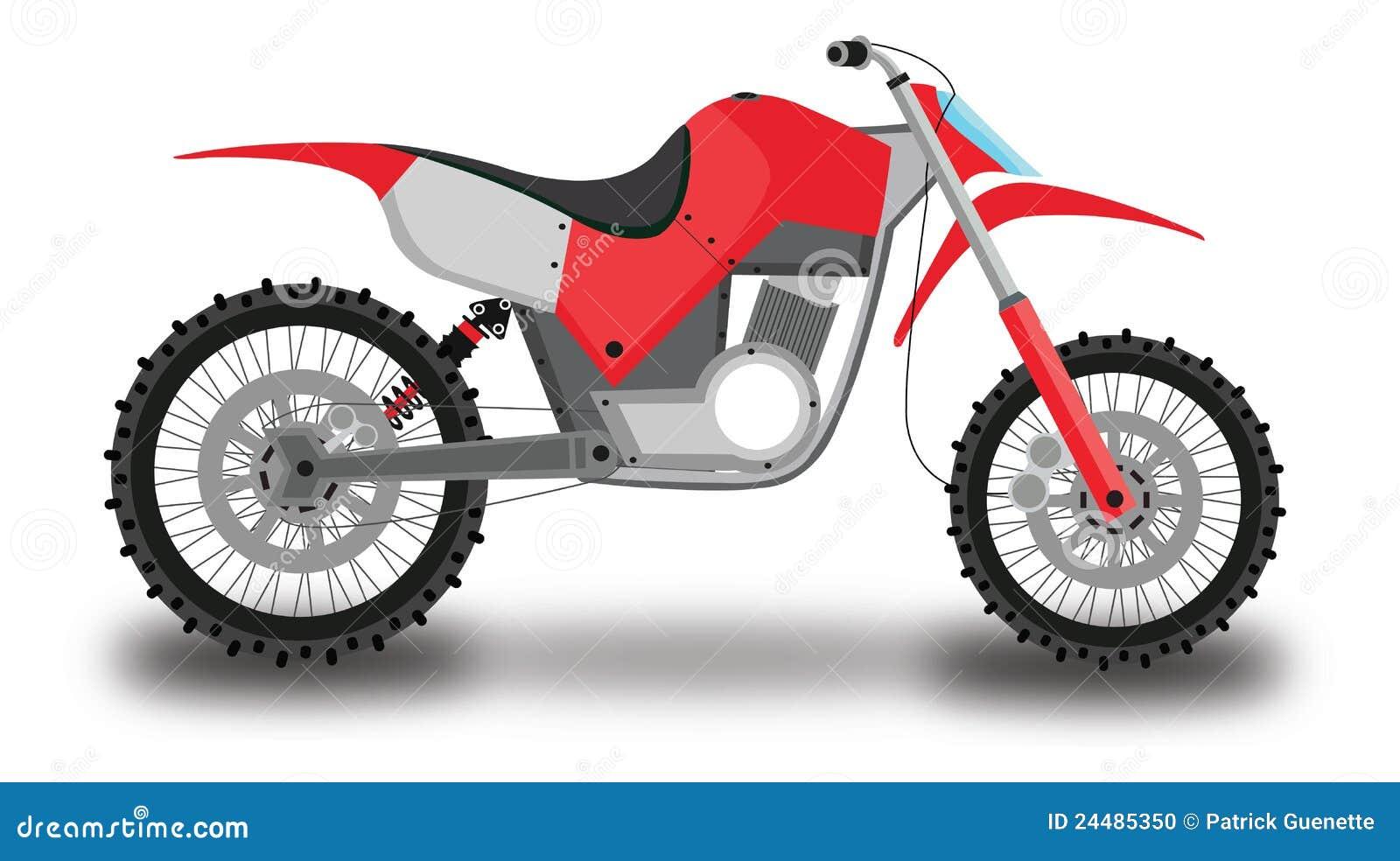 moto de motocross illustration de couleur illustration stock illustration du conduite. Black Bedroom Furniture Sets. Home Design Ideas