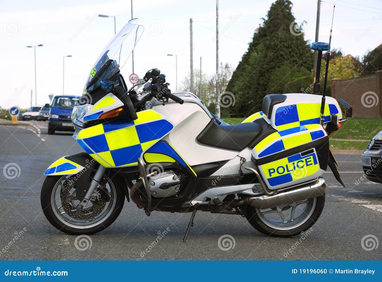 moto de police photo stock image 19196060. Black Bedroom Furniture Sets. Home Design Ideas