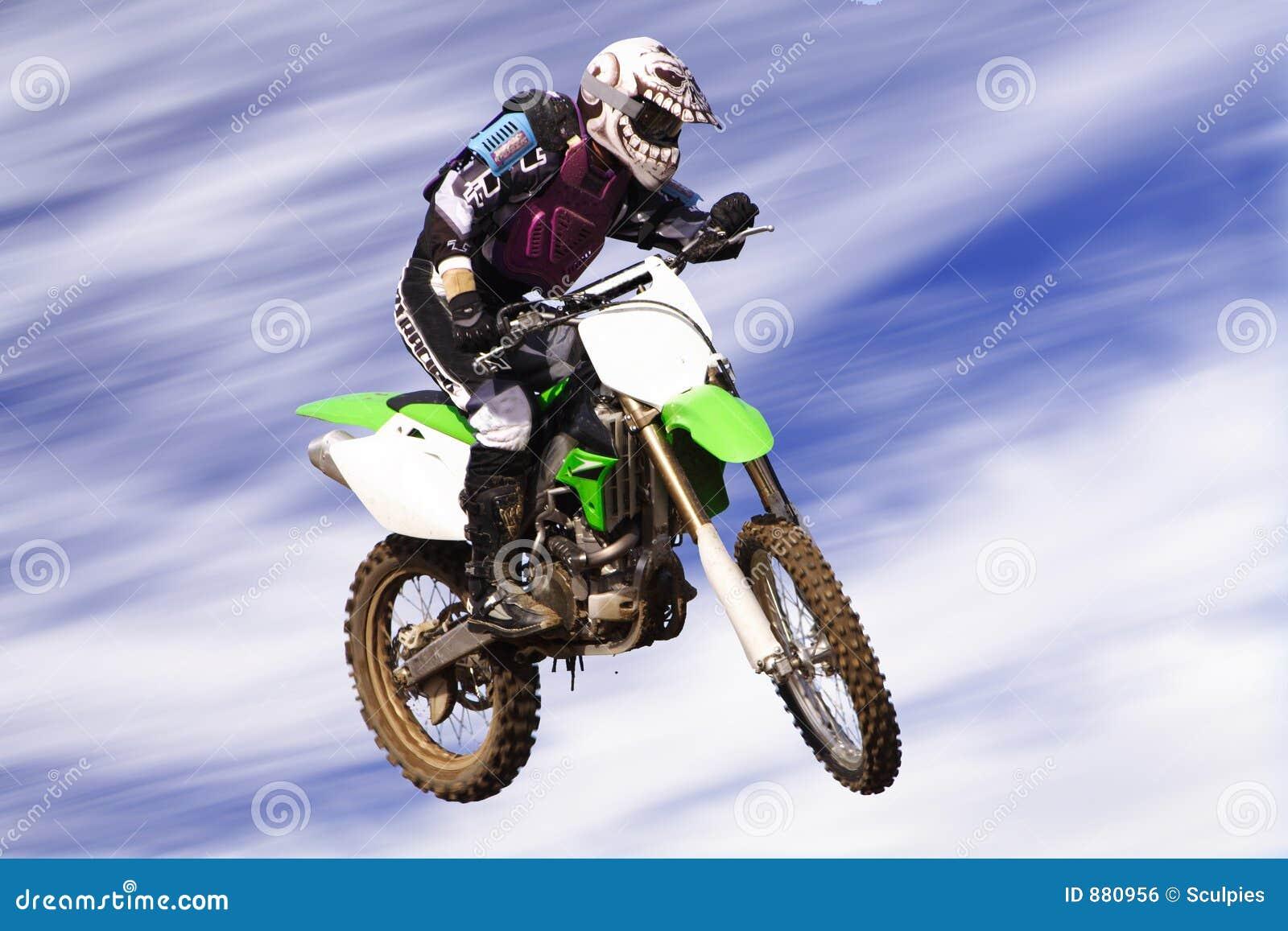 Moto jeździec krzyża c
