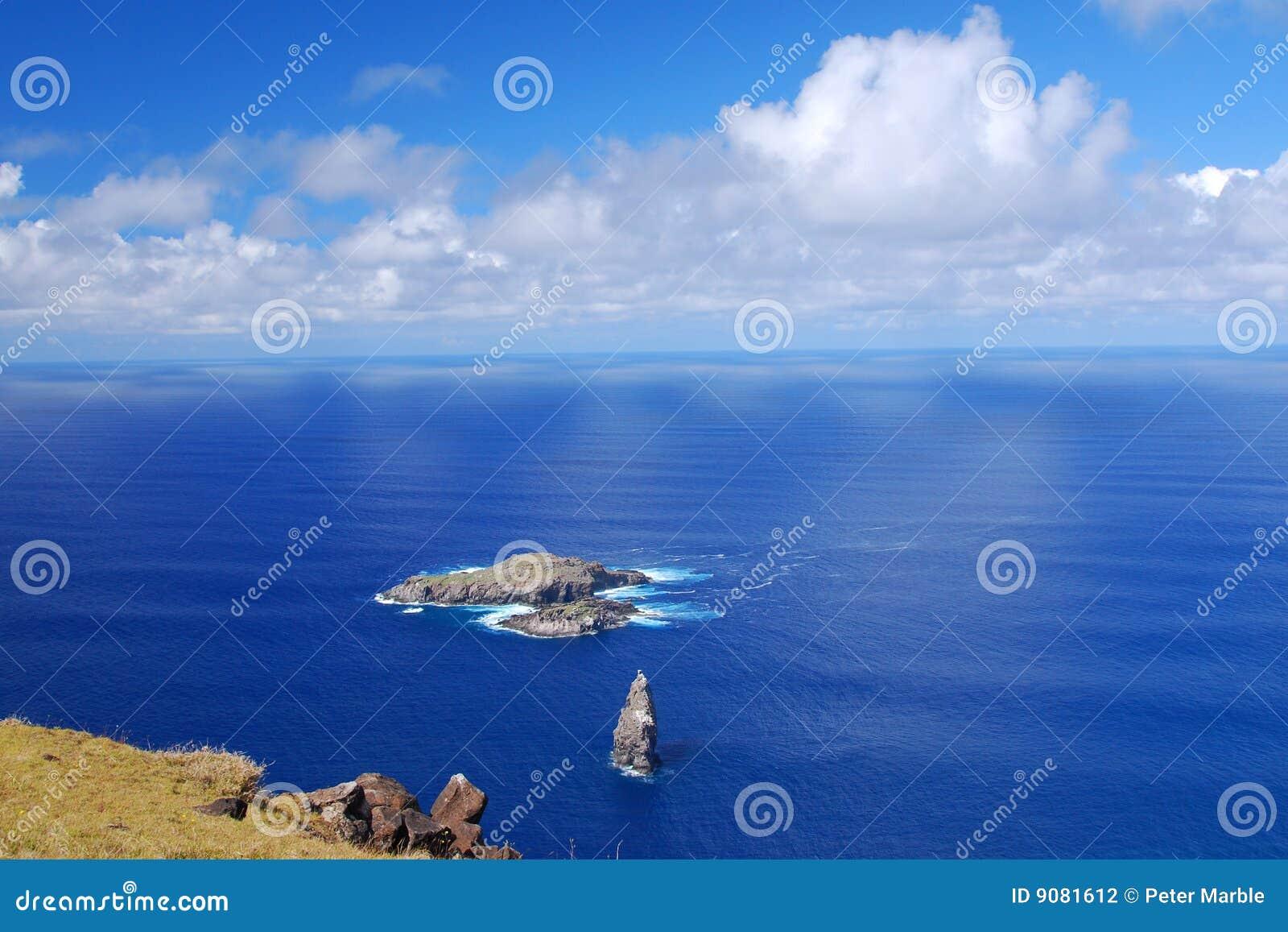 Moto Nui kleine Insel auf Ostern-Insel