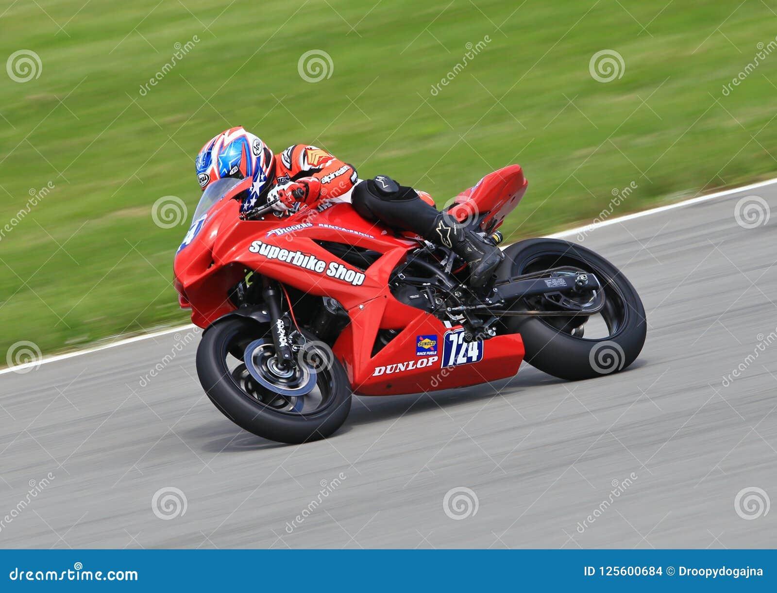 Motoamerica Motorcycle Racing At Motogp Editorial Stock Image