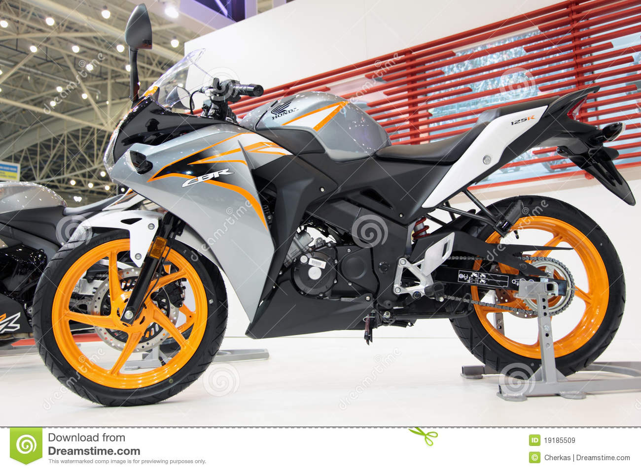 ... Exhibition, Motobike 2011, on April 7, 2011 in Kiev, Ukraine