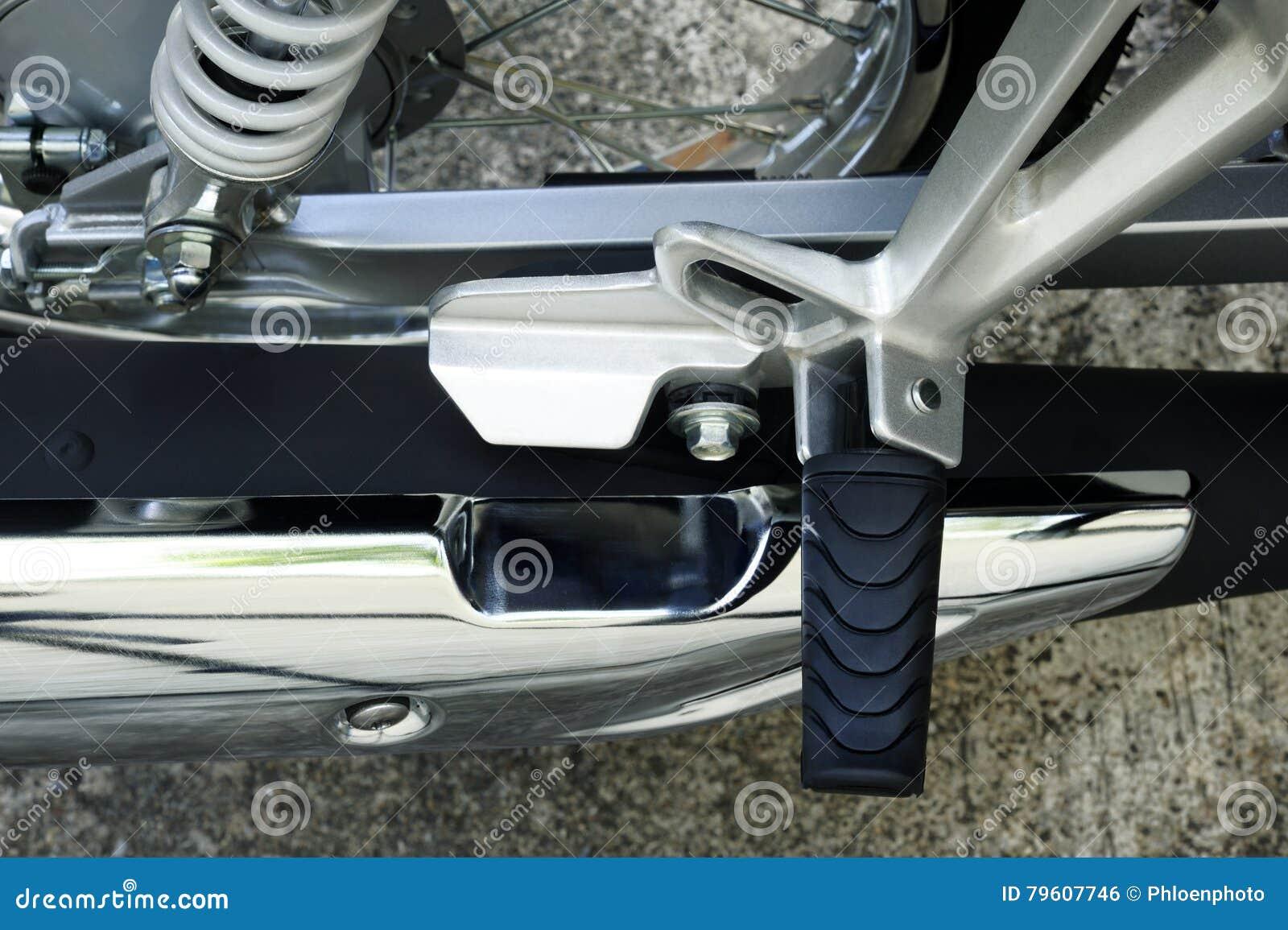 Motocicleta do assento para pés
