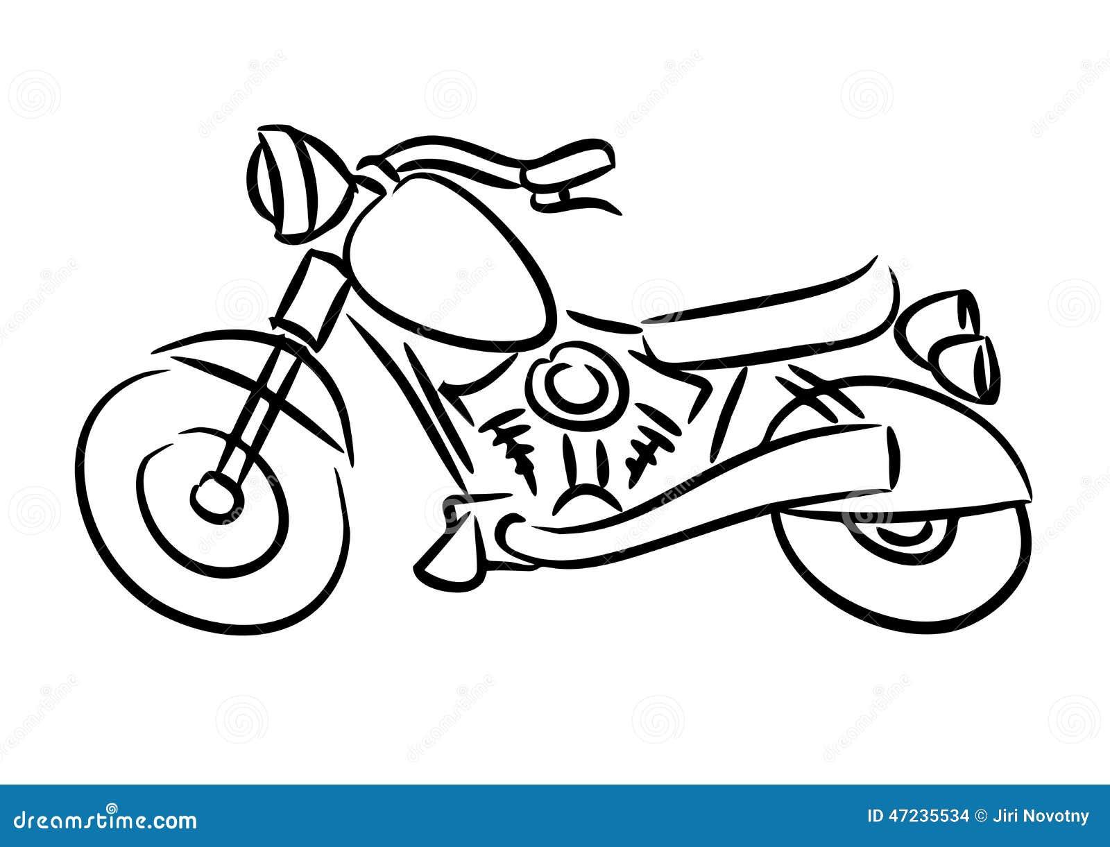 A motocicleta do interruptor inversor
