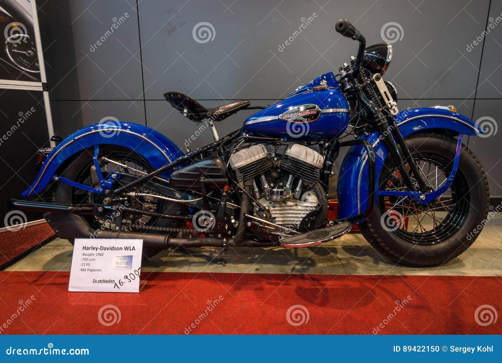 Motocicleta Harley-Davidson WLA do exército dos EUA, 1942