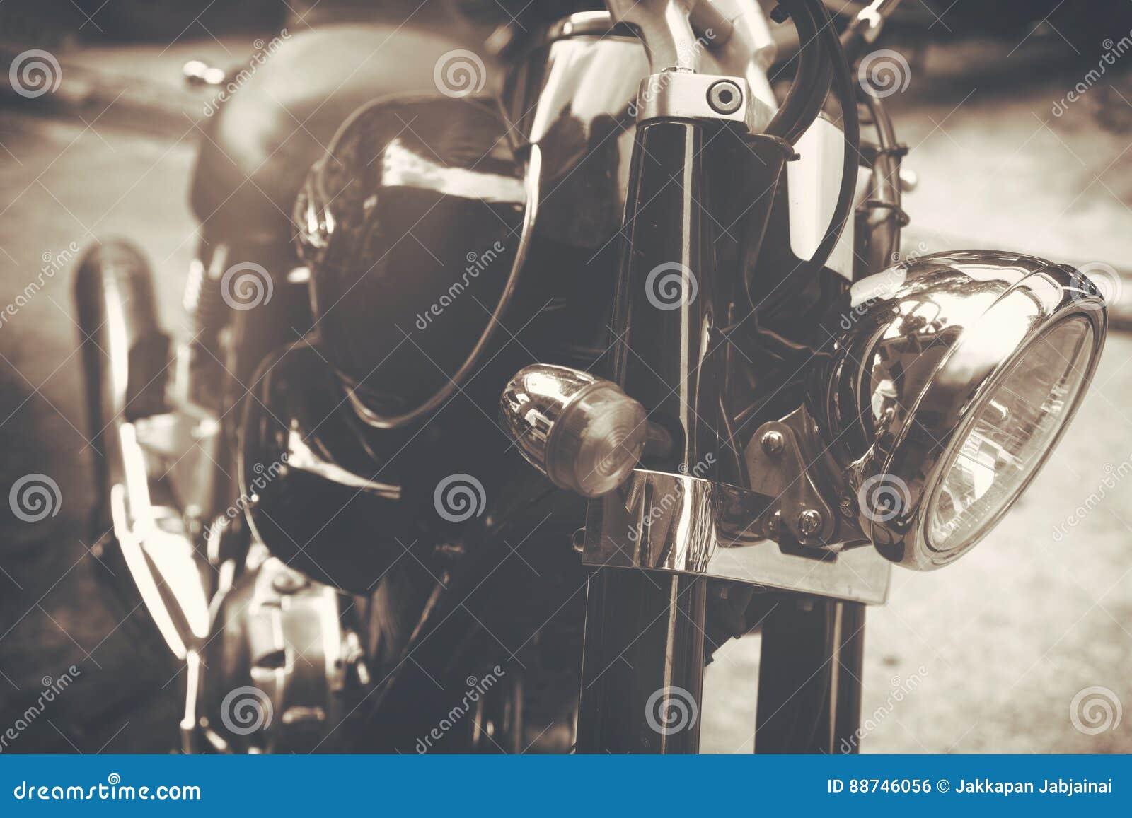 Motocicletas Clásicas Viejas Del Vintage Foto de archivo - Imagen de ...