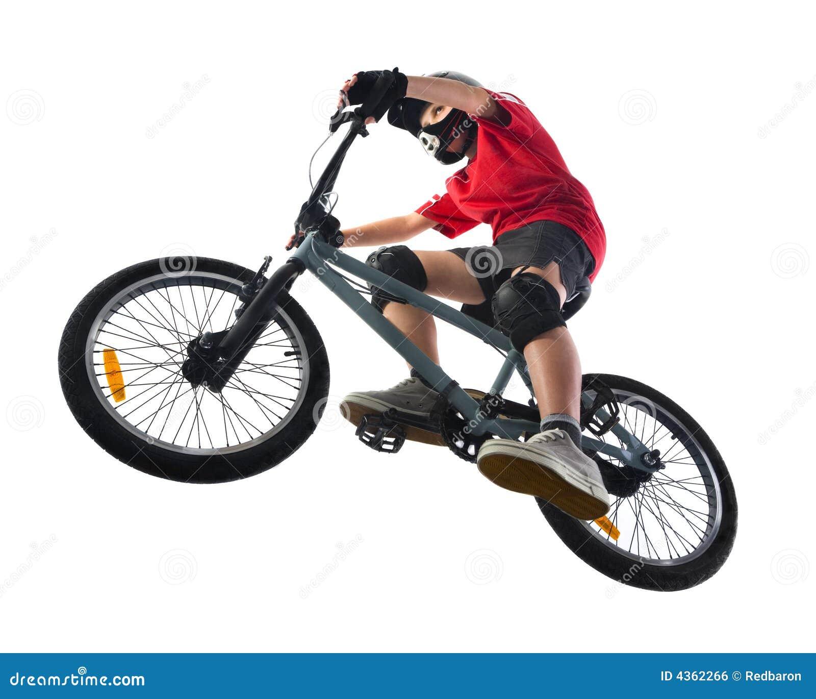 Motociclista de BMX