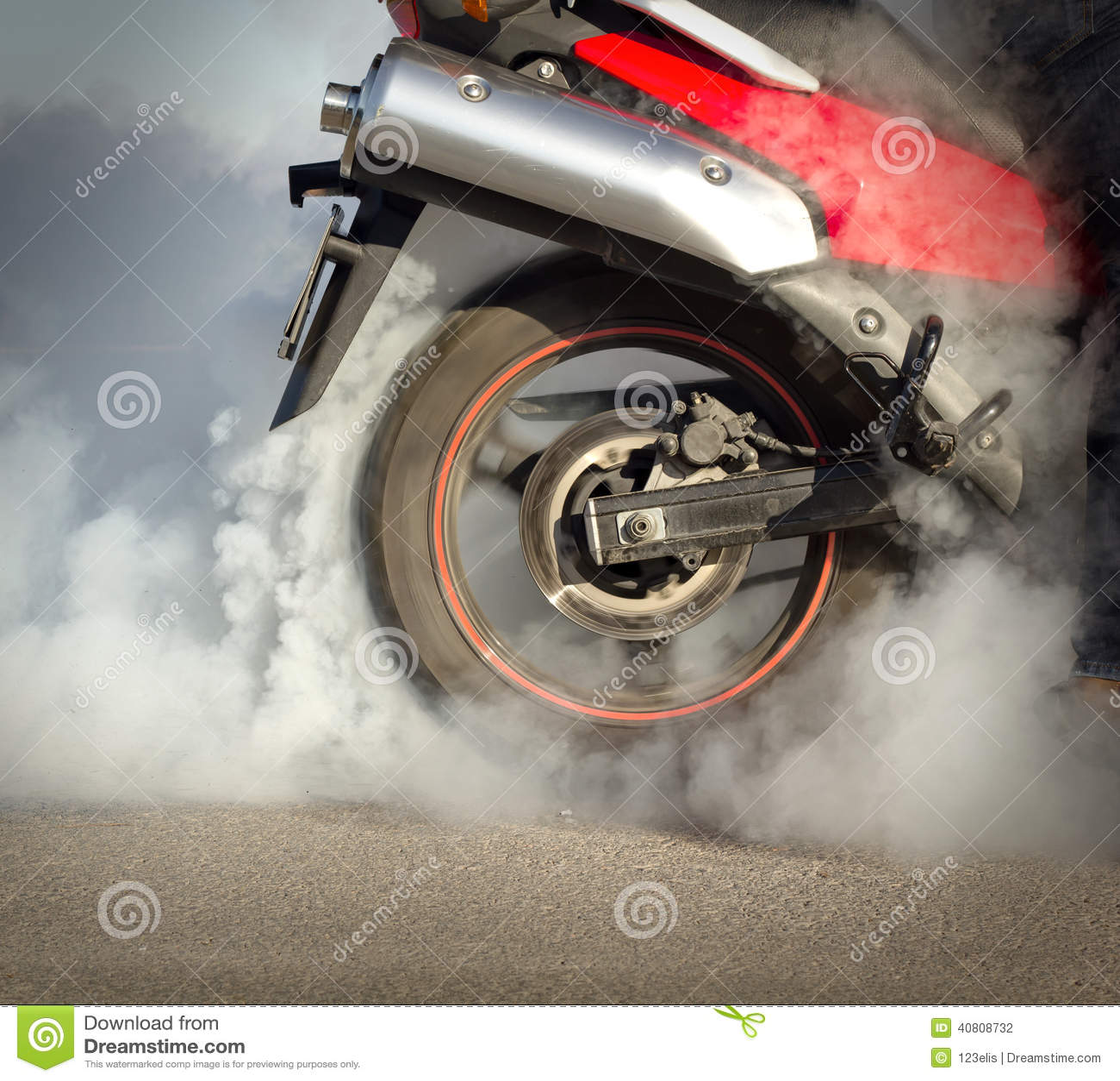 Motociclo di slittamento