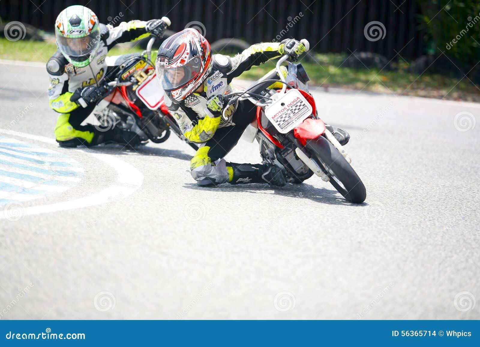Motocross children bikers editorial stock image. Image of small ...