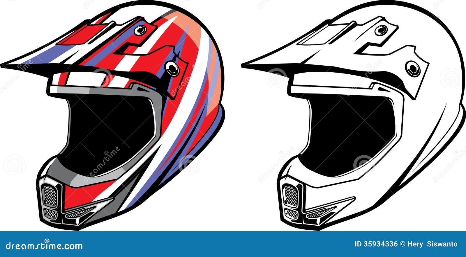 Motocross Helmet Royalty Free Stock Image - Image: 35934336