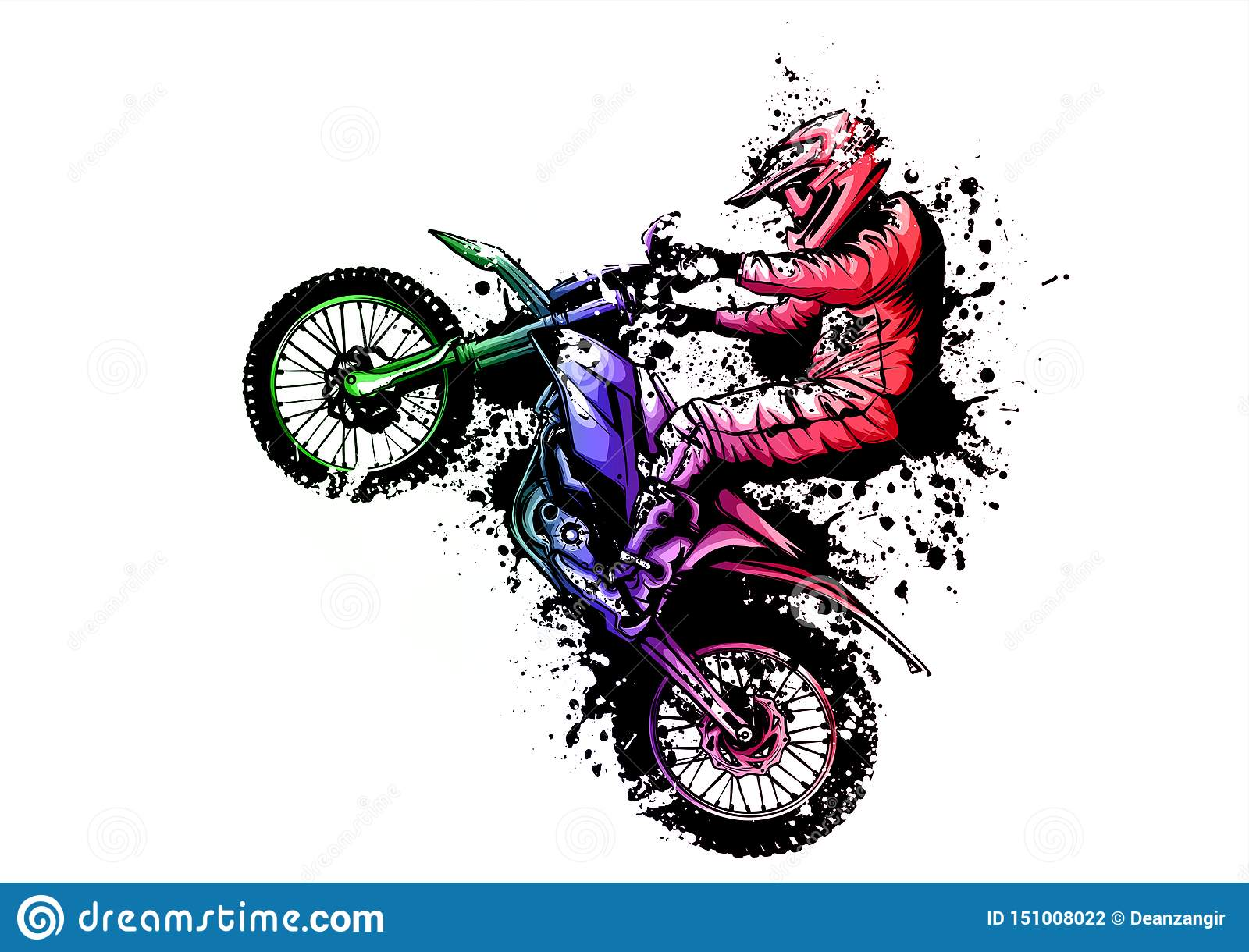 Bike Dirt Stock Illustrations 4 368 Bike Dirt Stock Illustrations Vectors Clipart Dreamstime