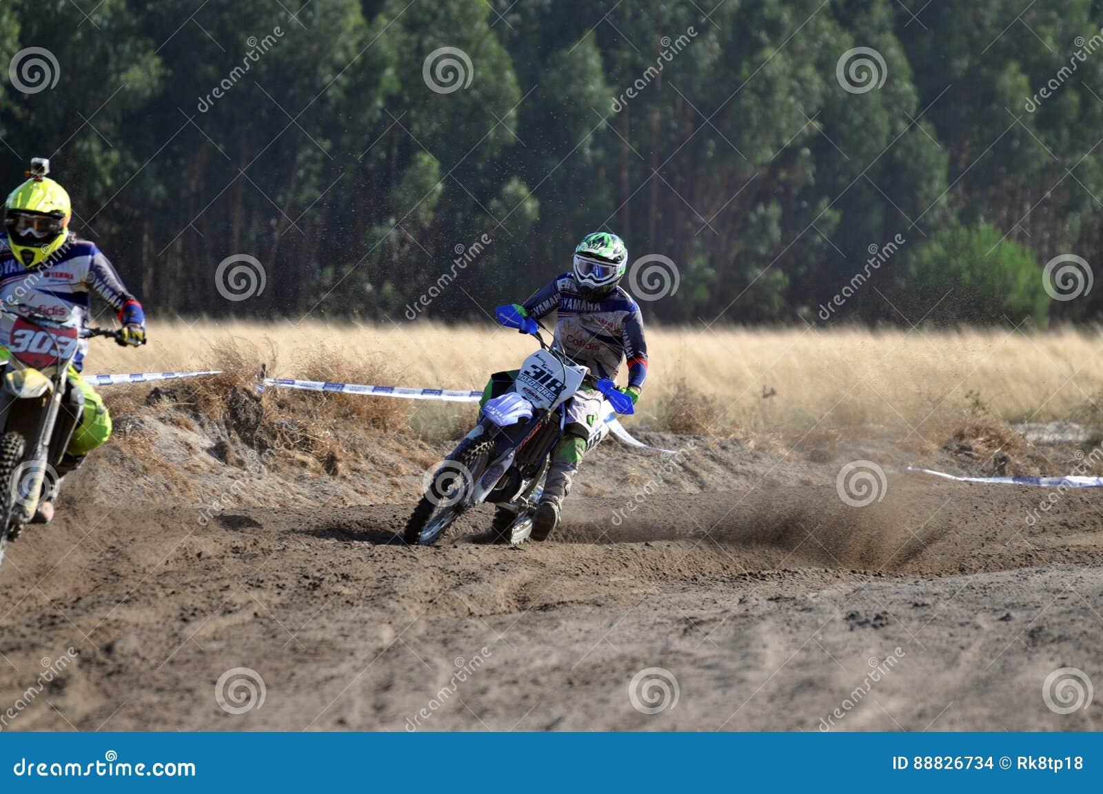 24 HOURS MOTOCROSS ENDURANCE RACE Editorial Stock Image