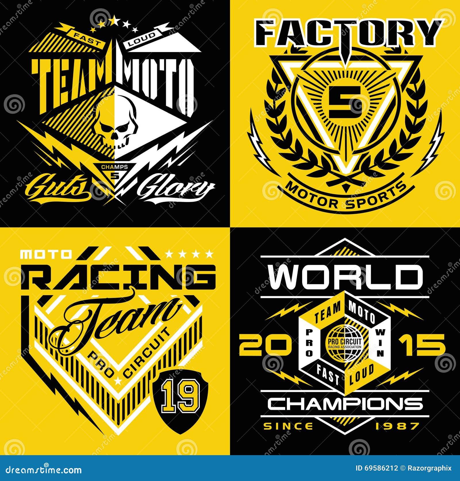 Design t shirt motocross - Motocross Sport Shield T Shirt Graphics