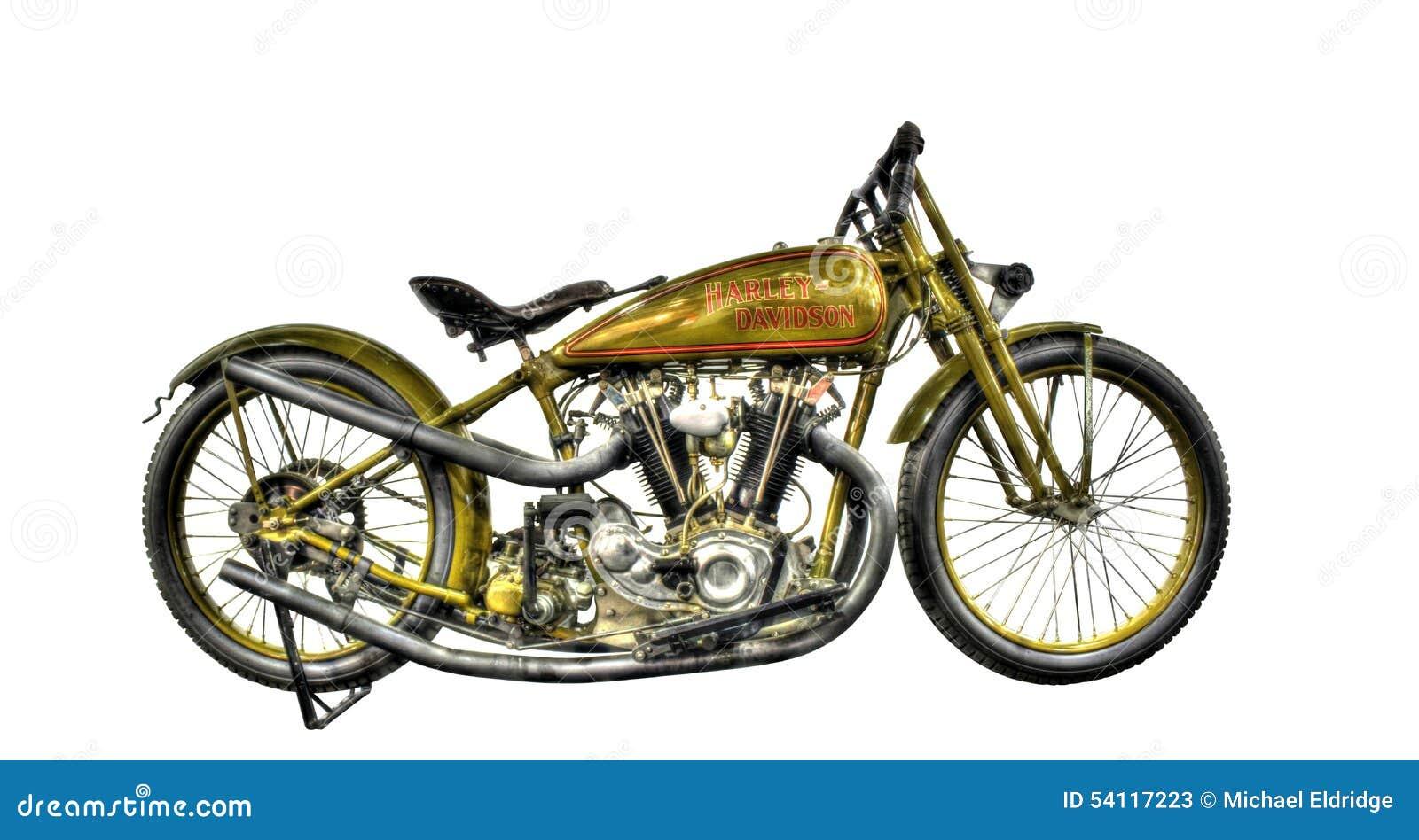 Motocyclette d isolement de WW2 Harley Davidson sur un fond blanc