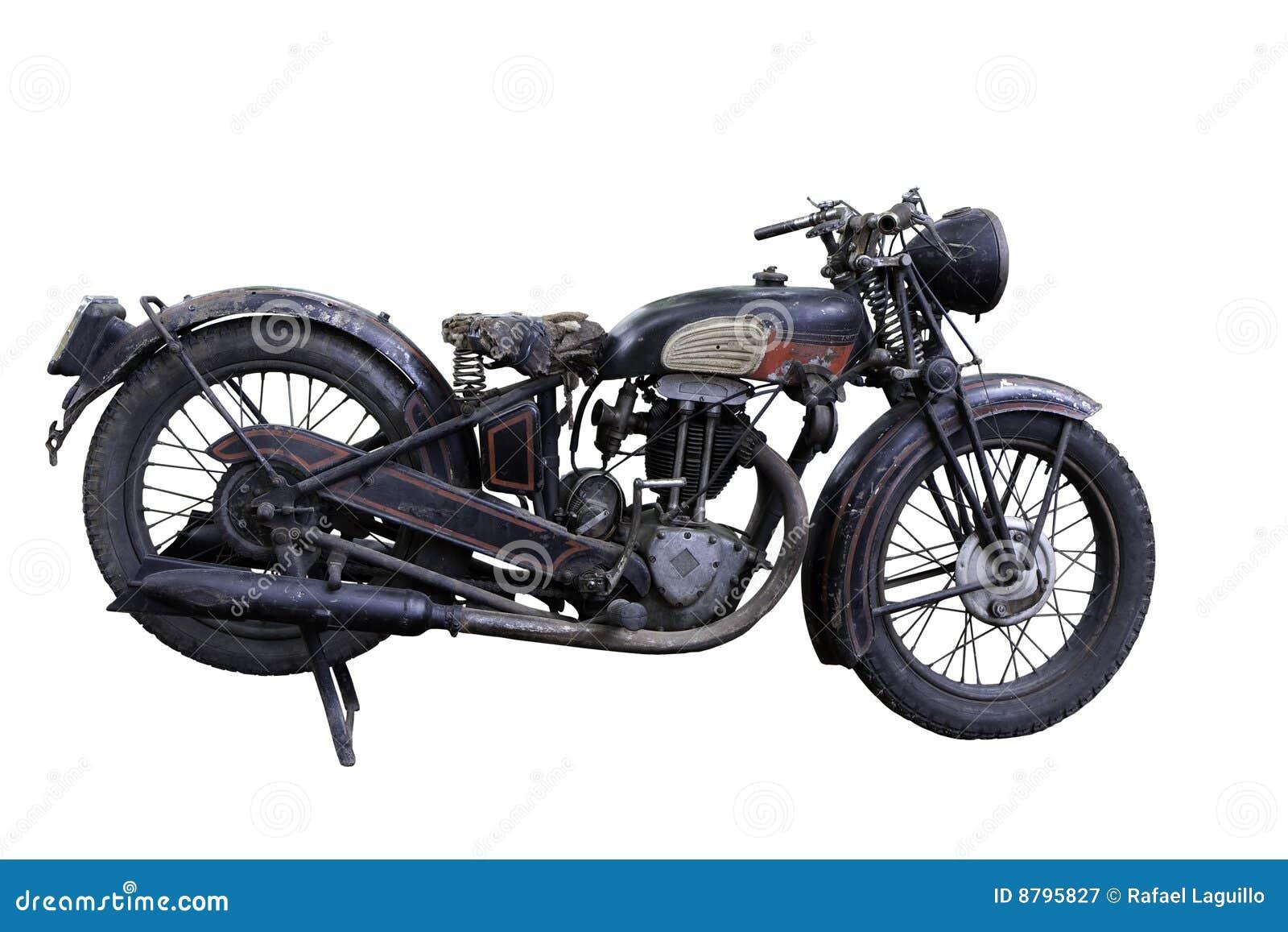 Motocykl stary