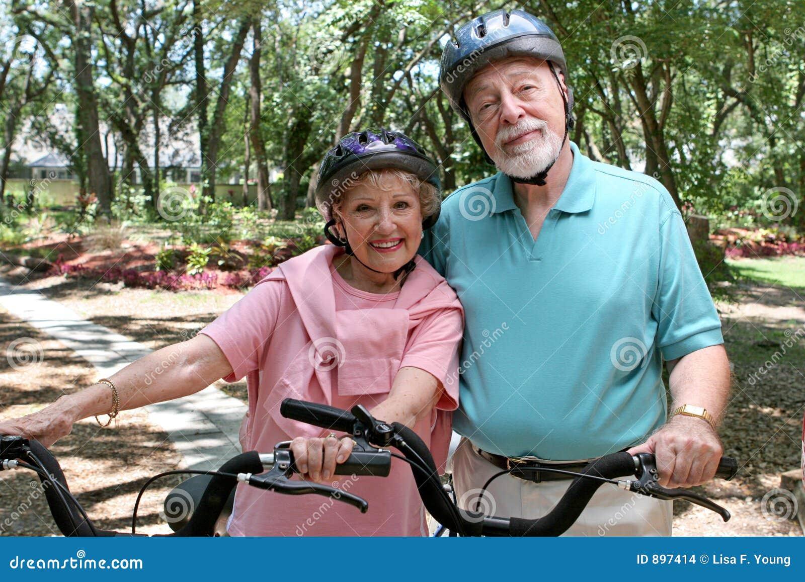 Motocyklista sejfu senior