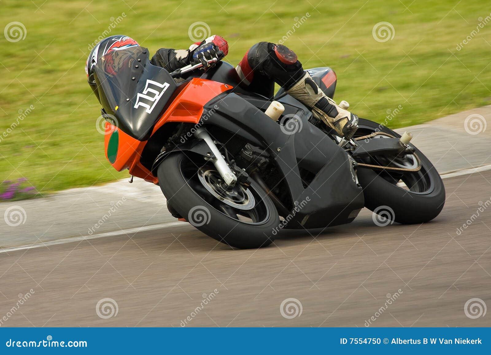 Motocyklu ścigać się