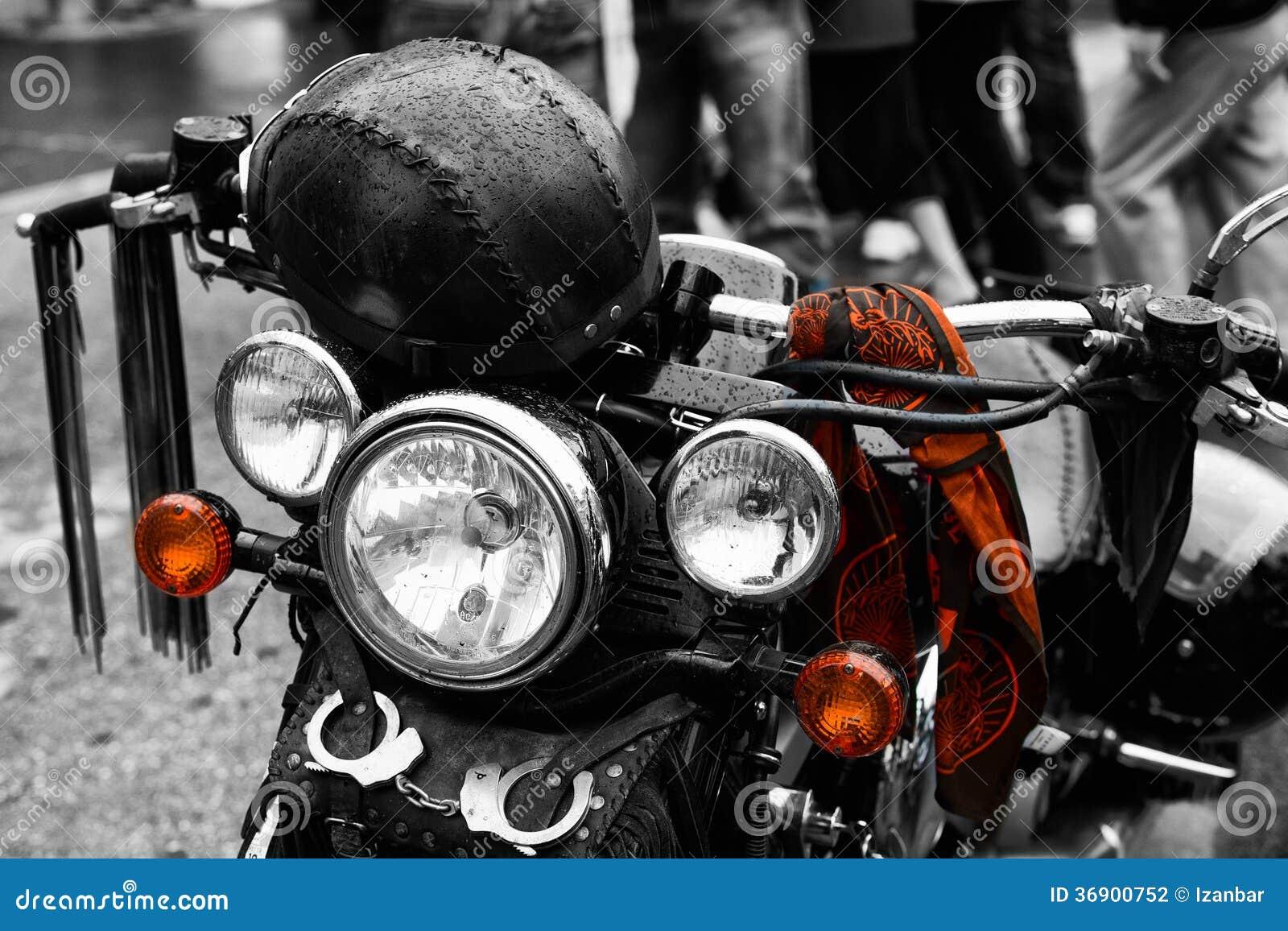 Motocyklu Harley szczegół