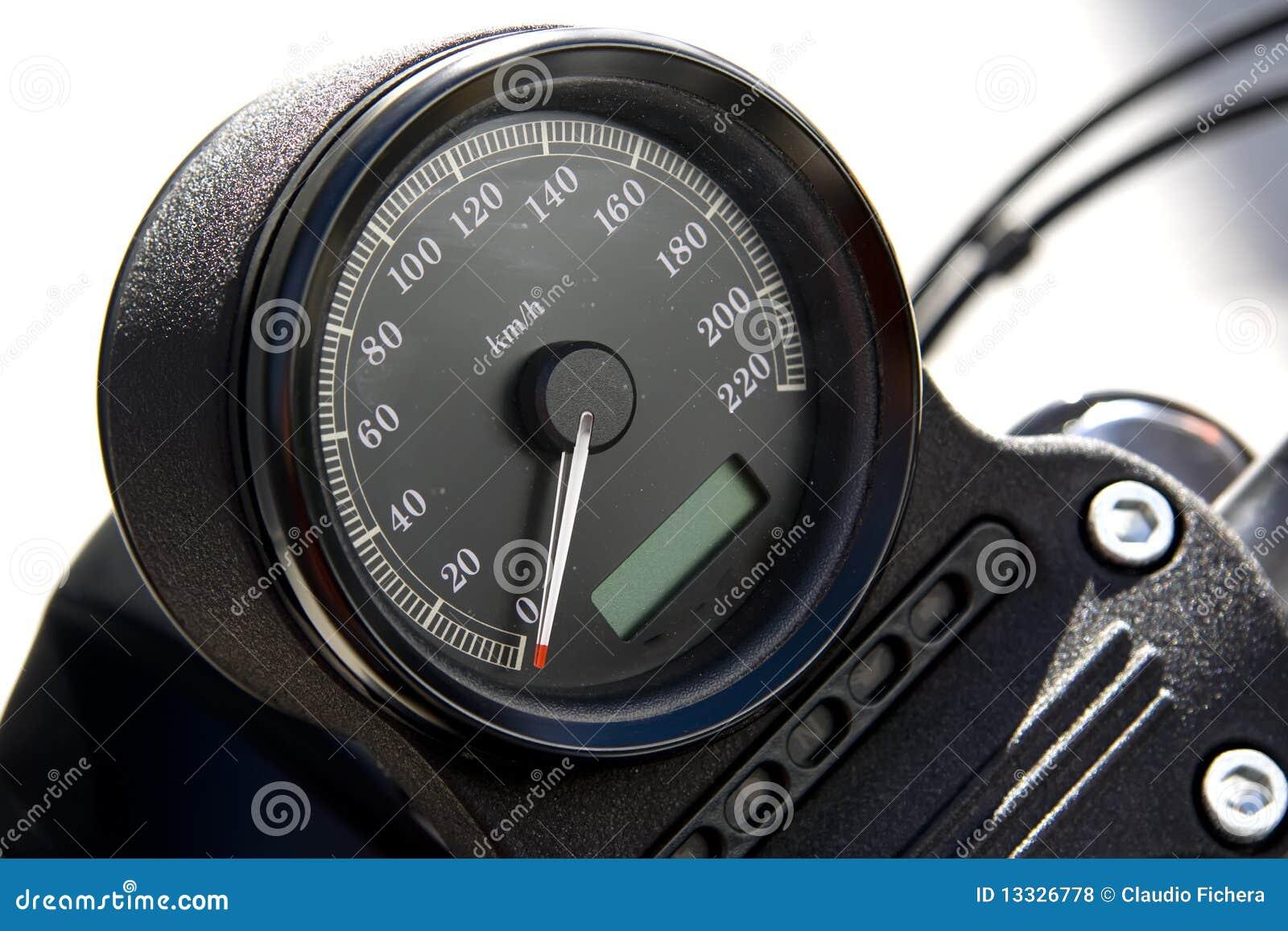Motocyklu szybkościomierz