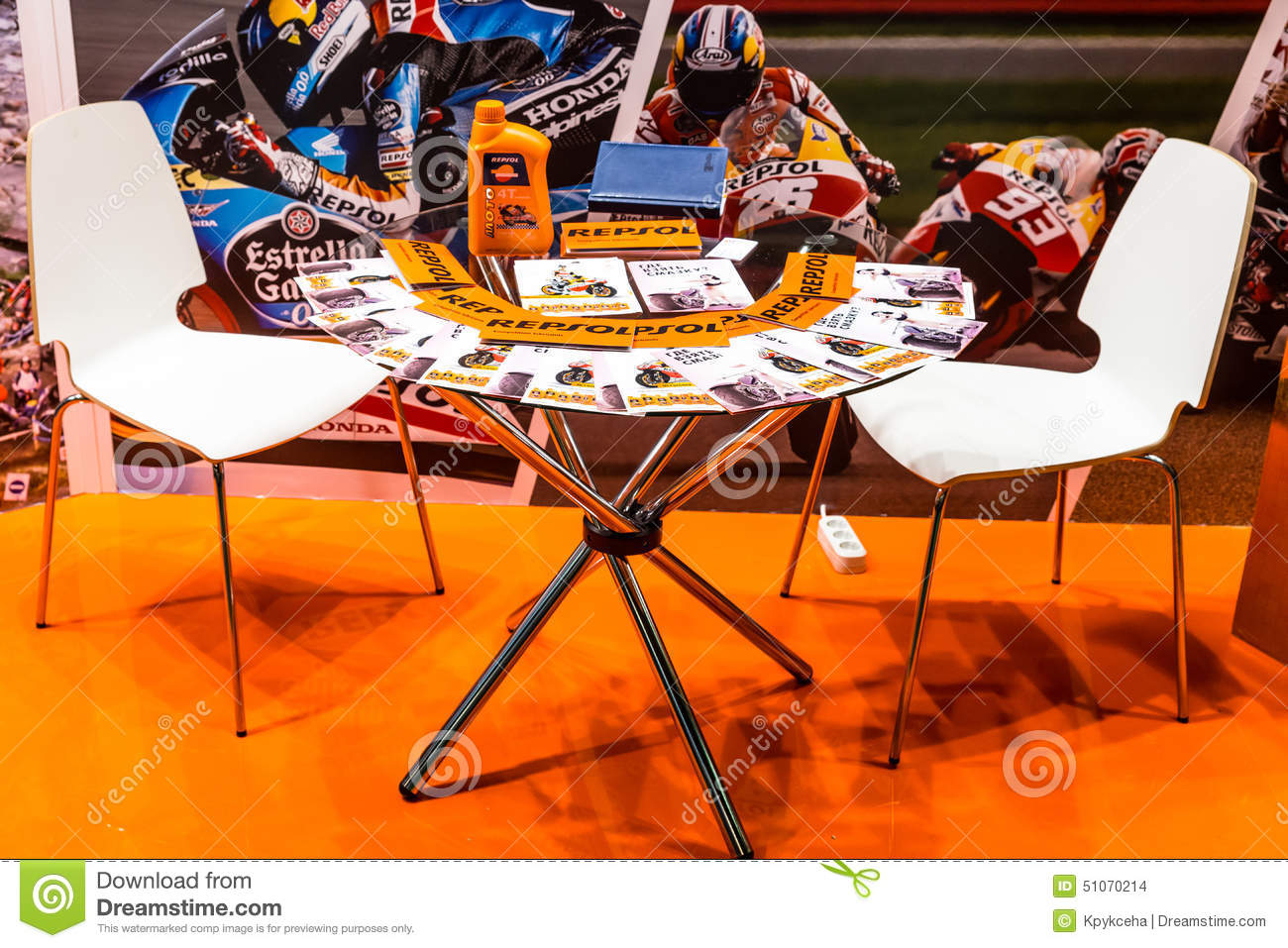 Expo Exhibition Stands Near Me : Motopark bikepark table with brochures near