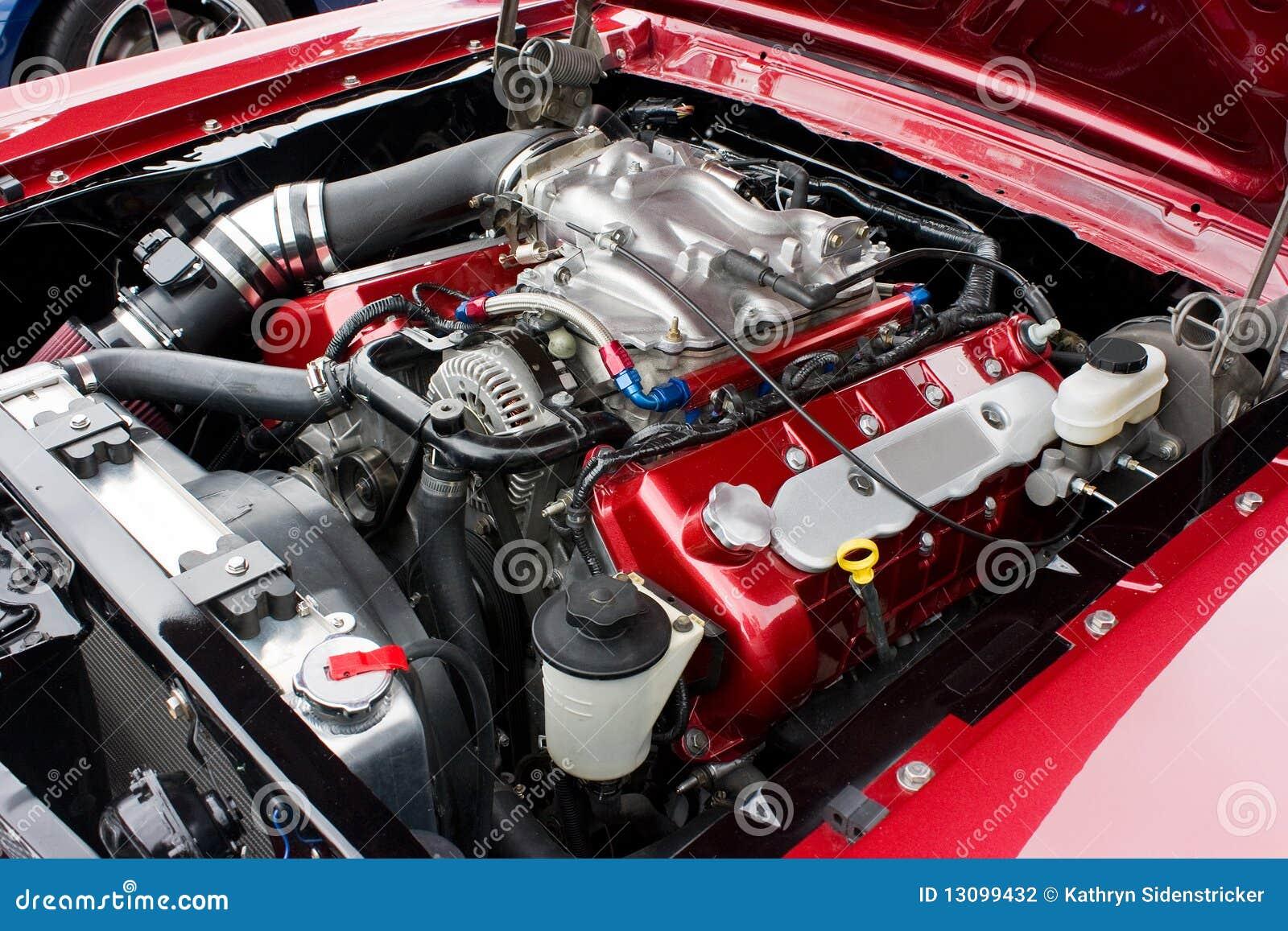 Motor 2002 de la cobra del mustango de Ford