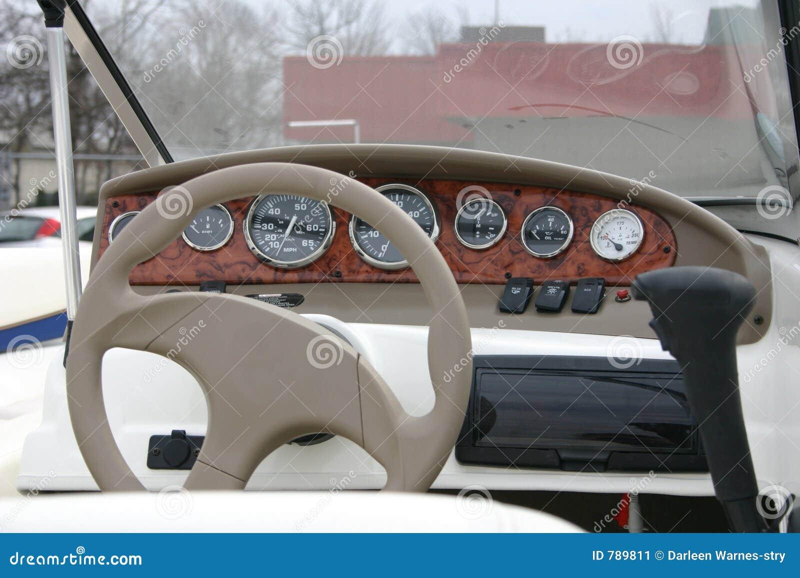 Motor Boat Dashboard