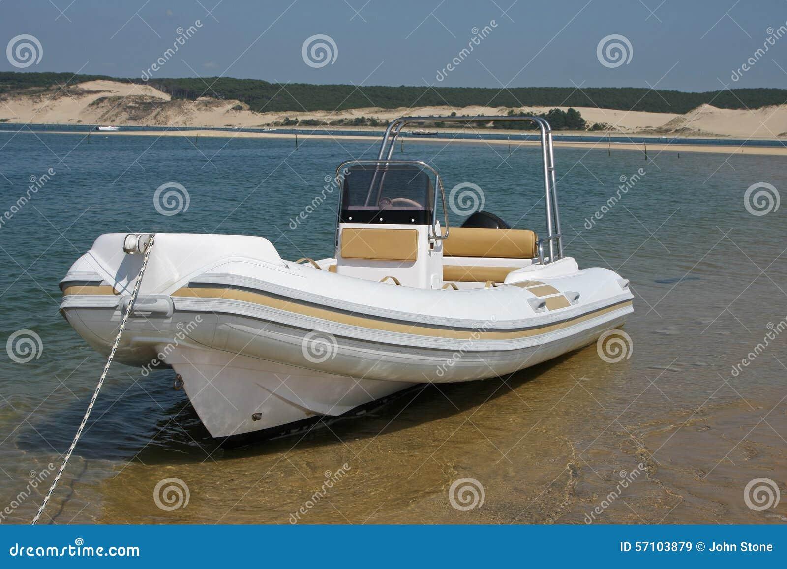 Motor Boat Stock Image Image Of Watercraft Speed Rigid