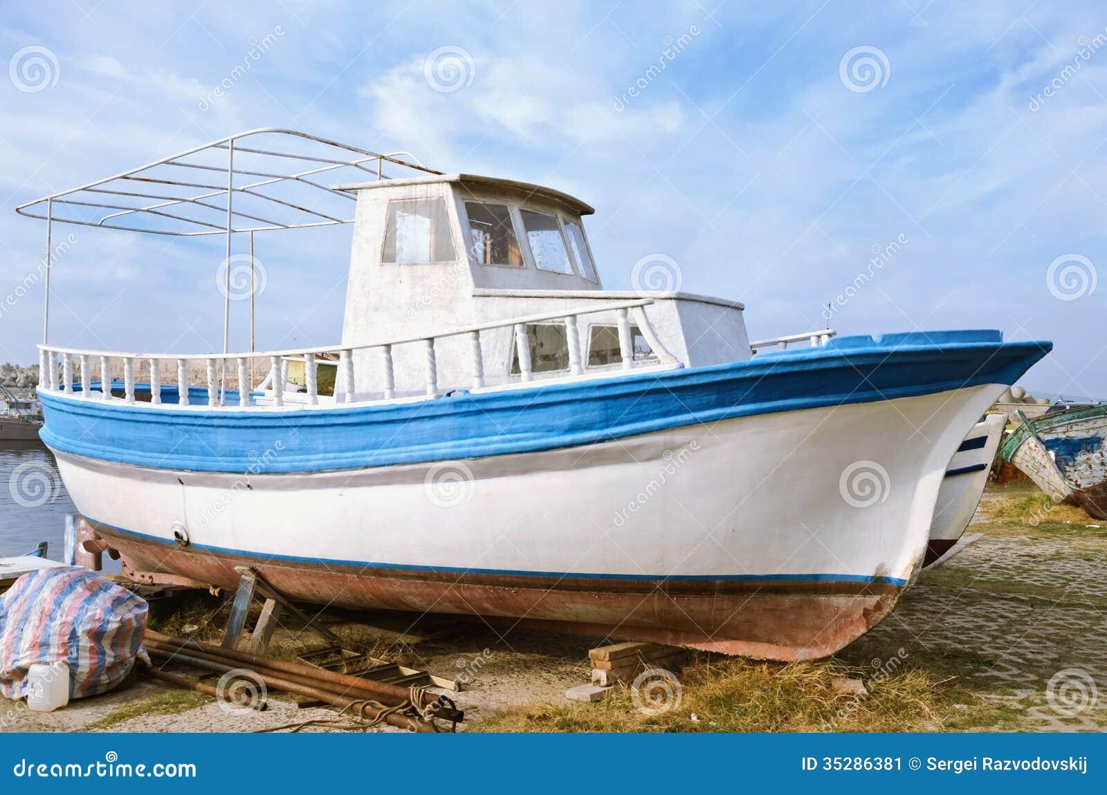 Motor Boat Stock Image Image 35286381