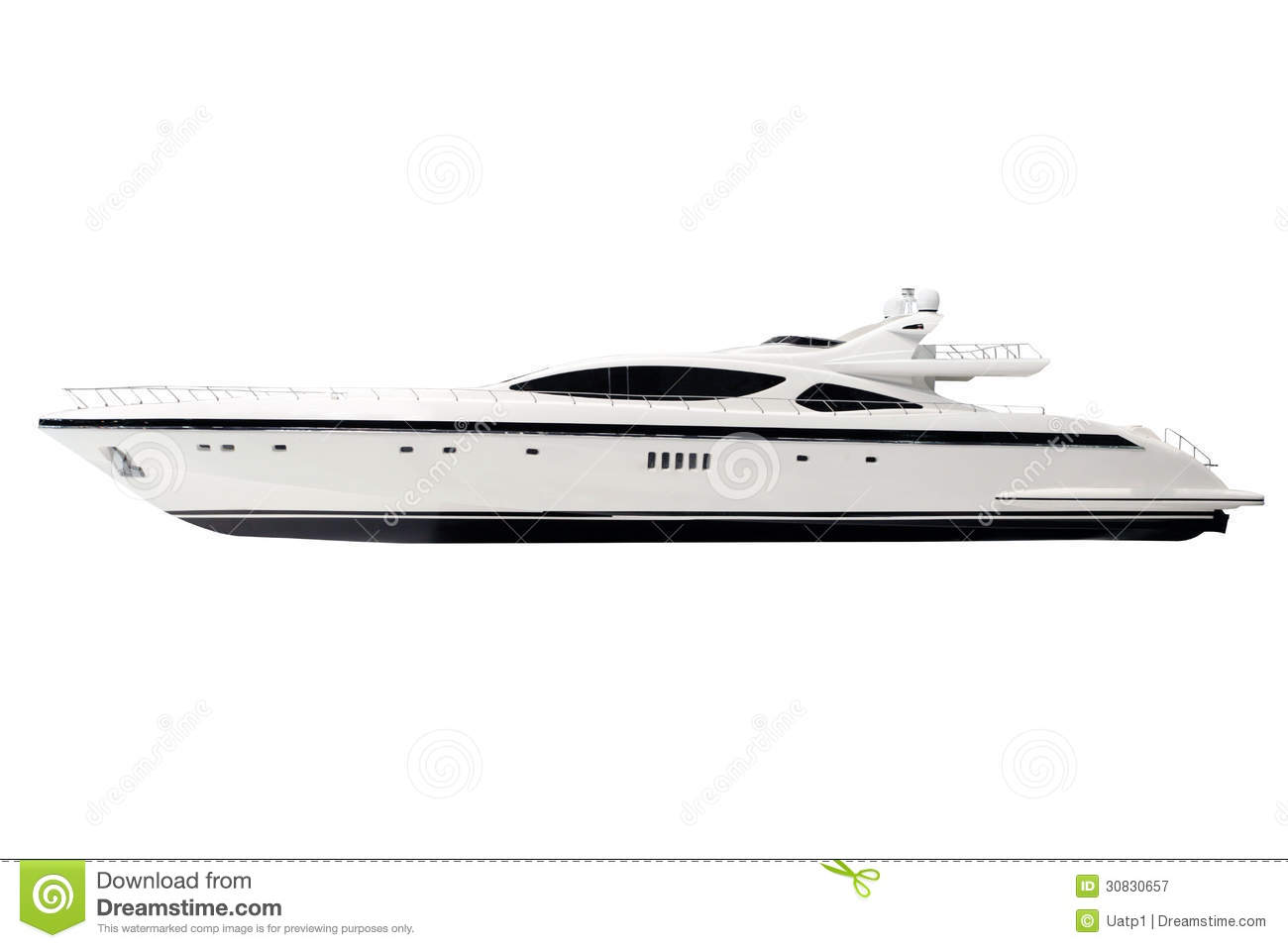 Motor Boat Royalty Free Stock Photography - Image: 30830657
