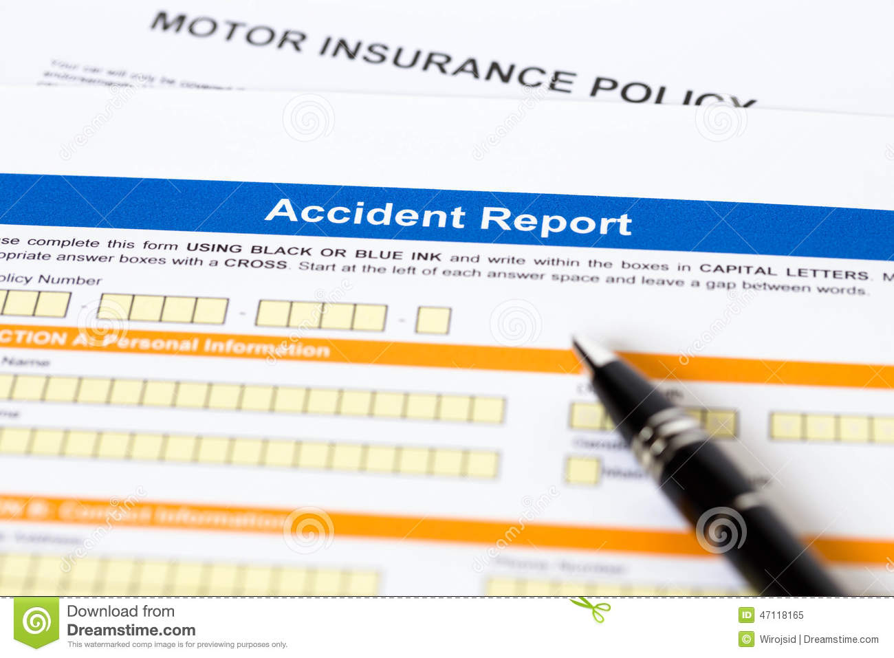 How To Write Accident Car Report Make A Business Plan