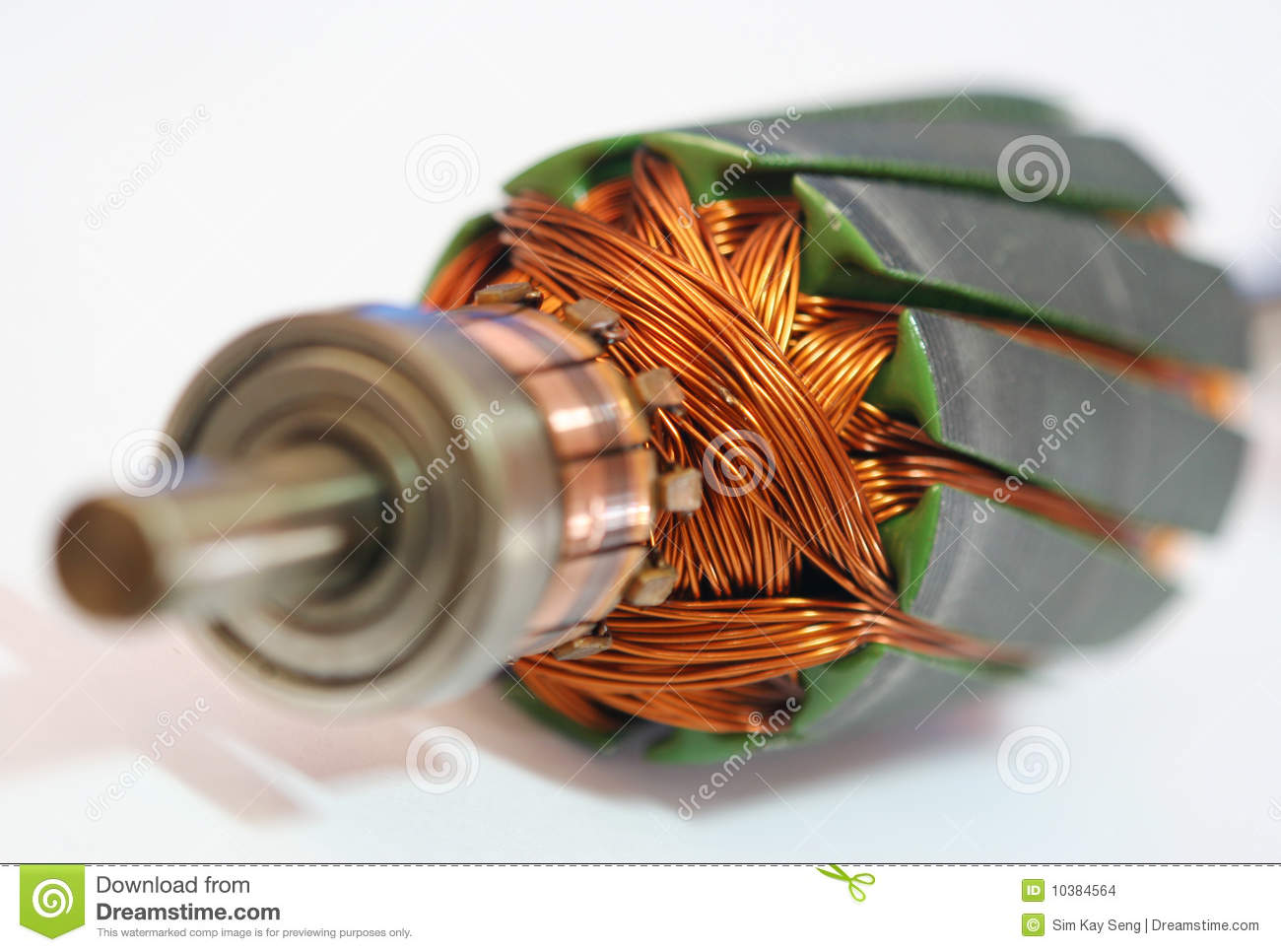 Motor Coil Stock Images Image 10384564