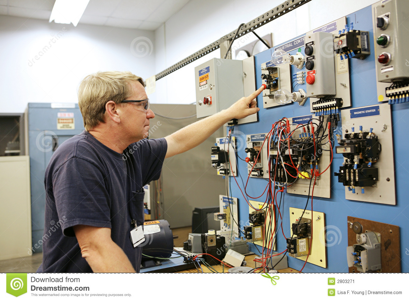 Motor Control Center Stock Image Image 2803271