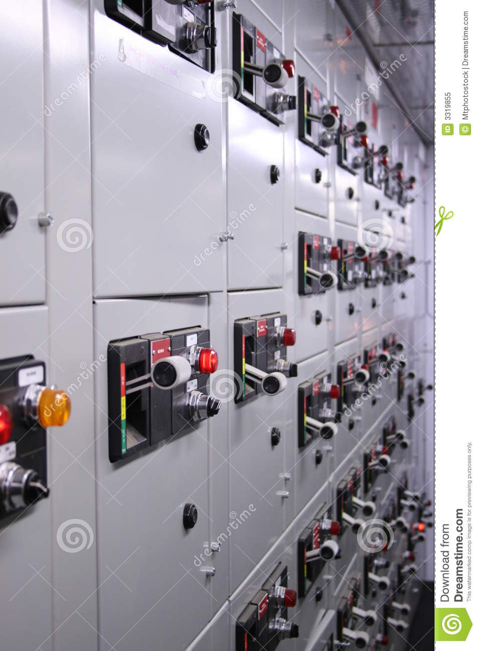 Motor Control Center Stock Image Image Of Communication