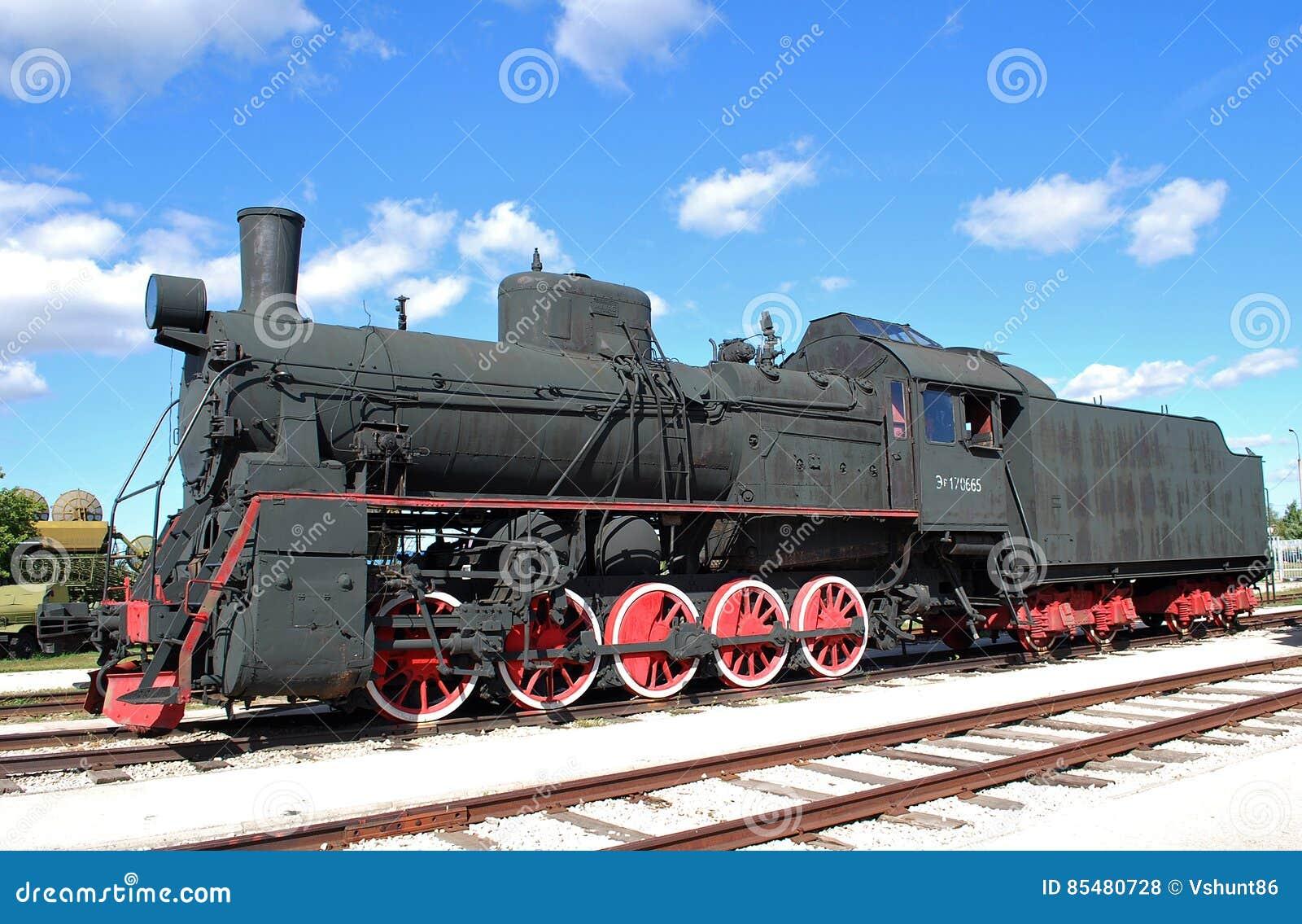 Motor da carga do russo e do soviete da série AYR-170665 Museu técnico K g Sakharova Togliatti