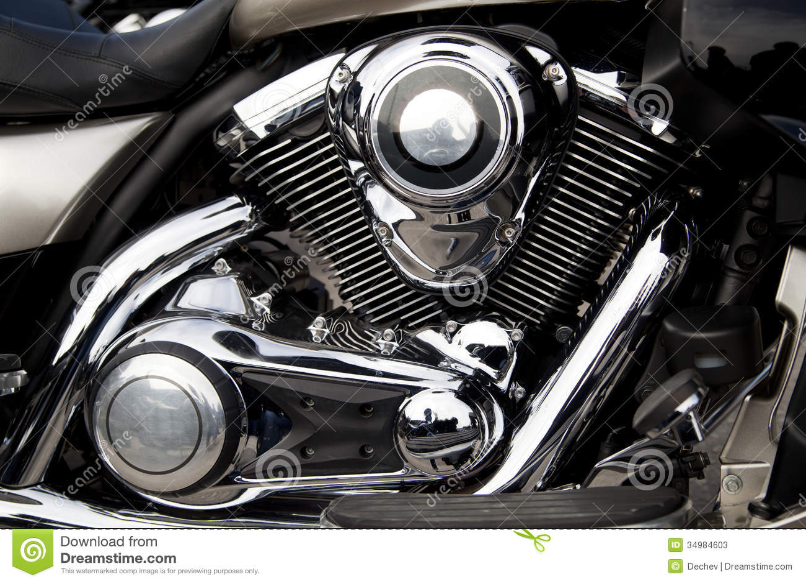 Motor da motocicleta, motor
